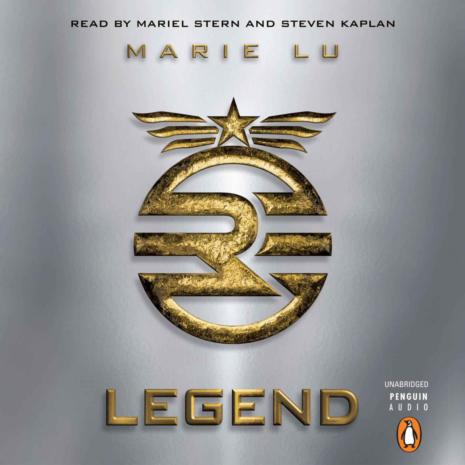 Printable Legend Audiobook Cover Art