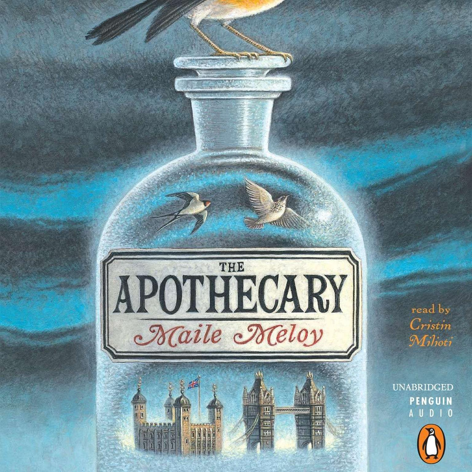 Printable The Apothecary Audiobook Cover Art