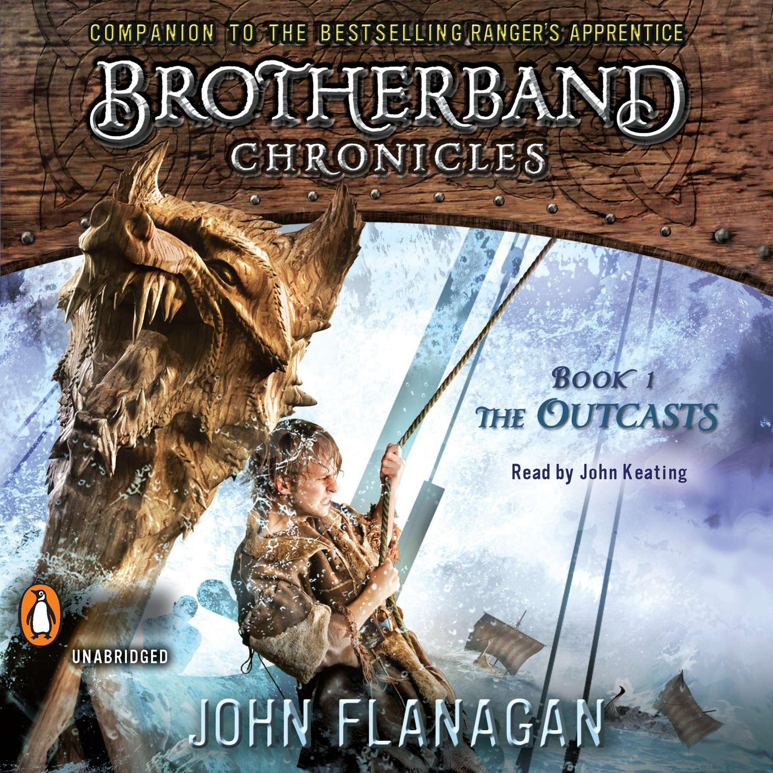 Printable The Outcasts: Brotherband Chronicles, Book 1 Audiobook Cover Art