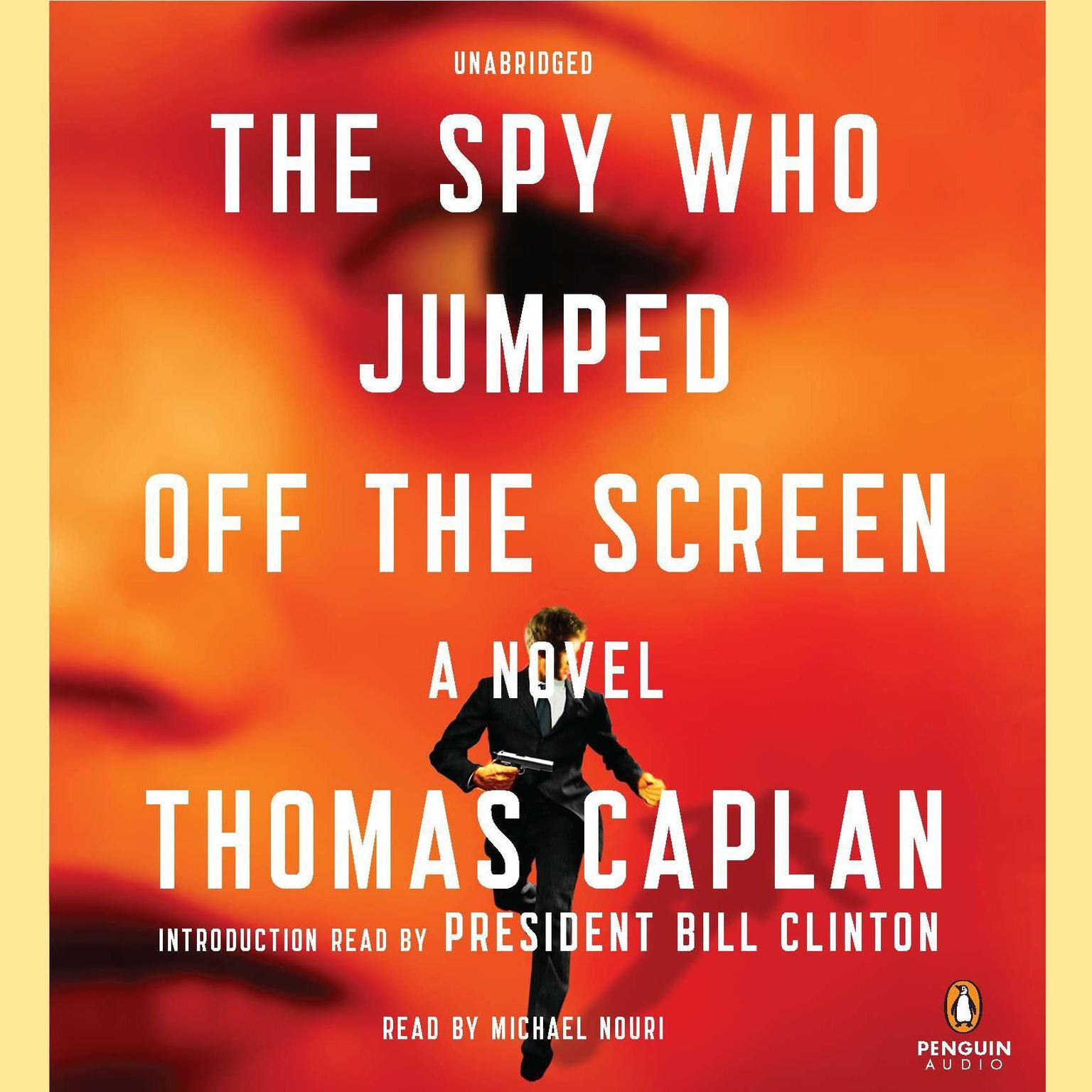 Printable The Spy Who Jumped off the Screen Audiobook Cover Art