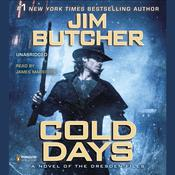 Cold Days: A Novel of the Dresden Files Audiobook, by Jim Butcher