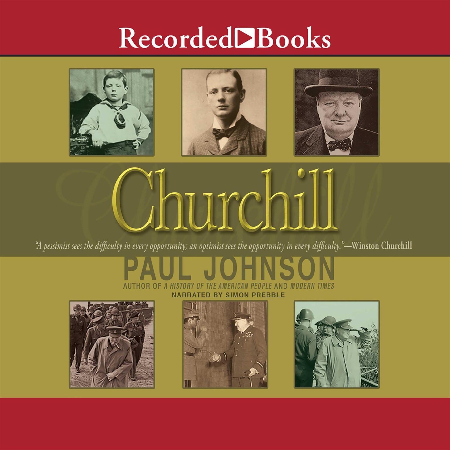 Printable Churchill Audiobook Cover Art