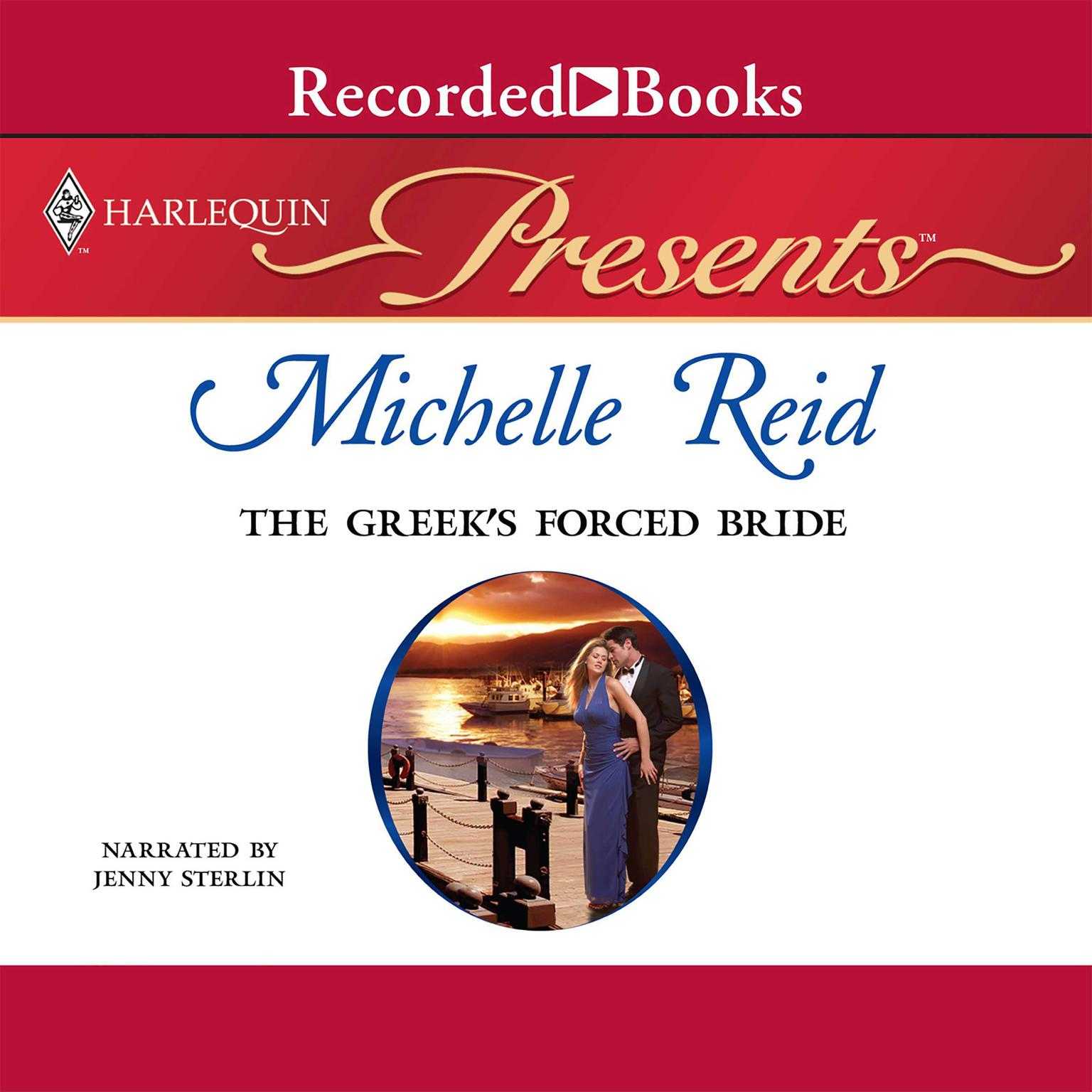Printable The Greek's Forced Bride Audiobook Cover Art