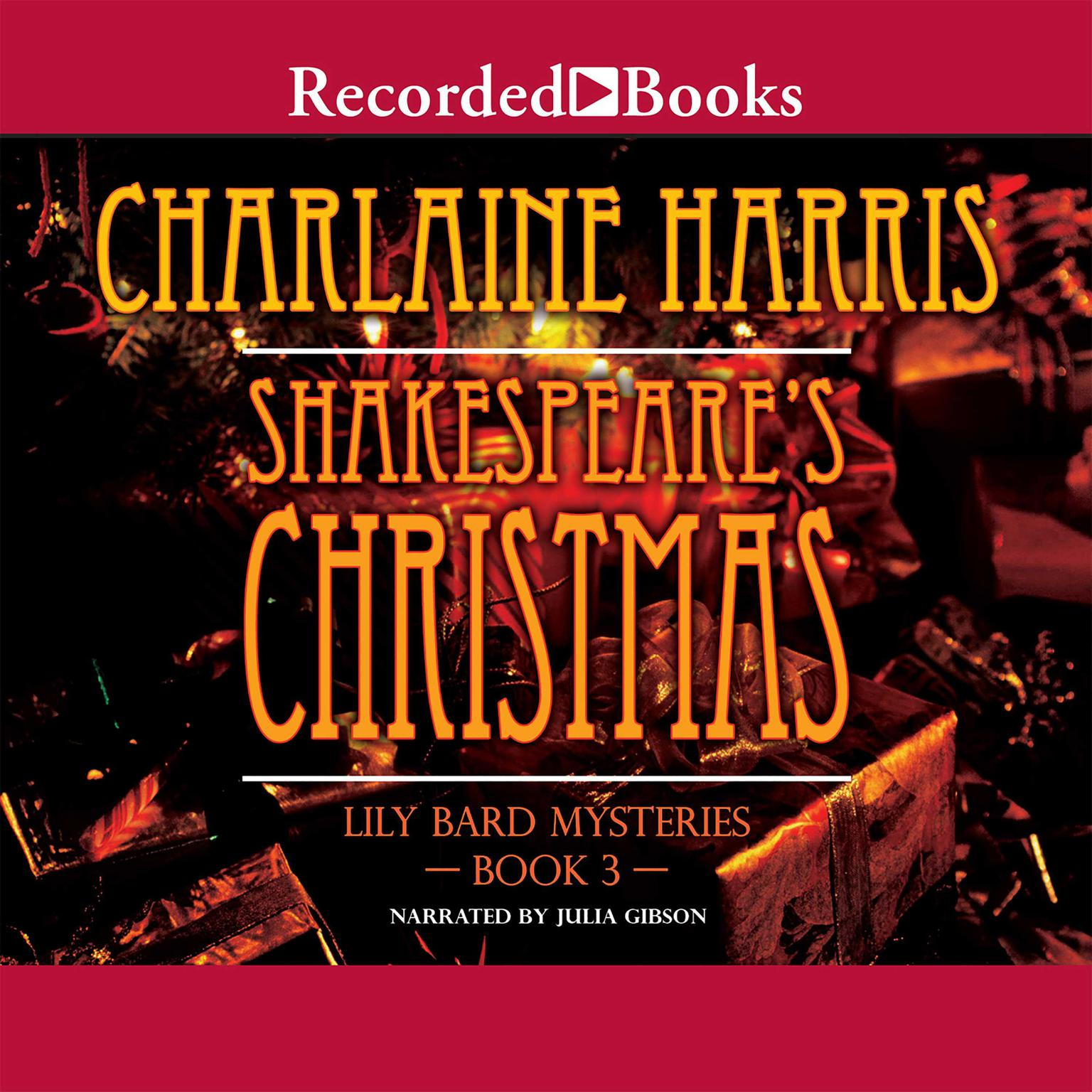 Printable Shakespeare's Christmas Audiobook Cover Art