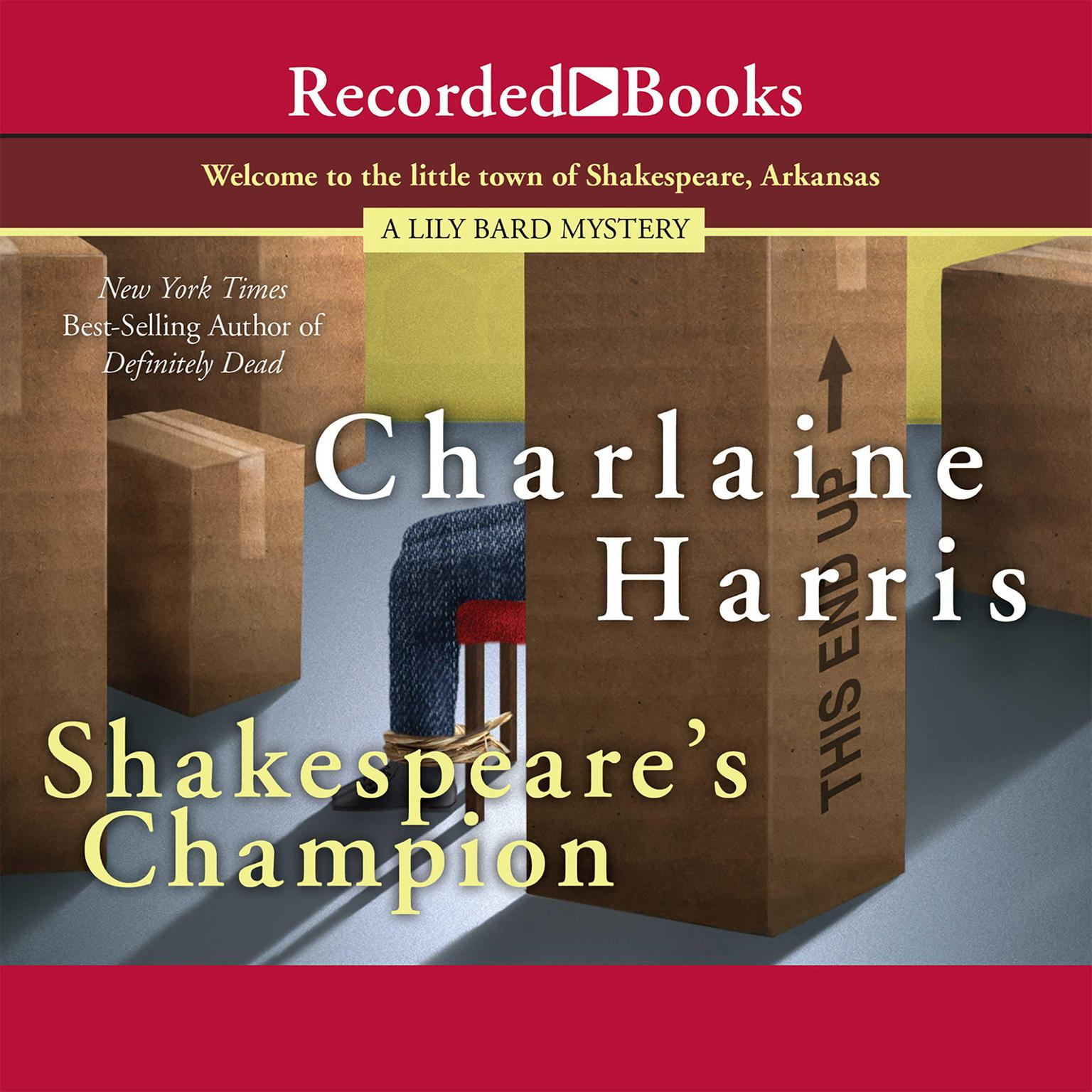 Printable Shakespeare's Champion Audiobook Cover Art