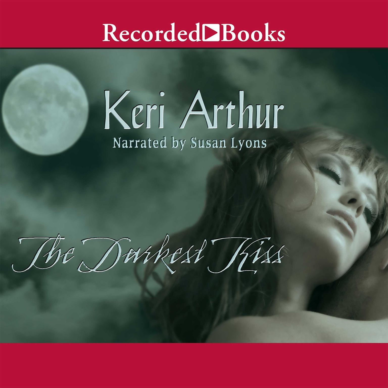 Printable The Darkest Kiss Audiobook Cover Art