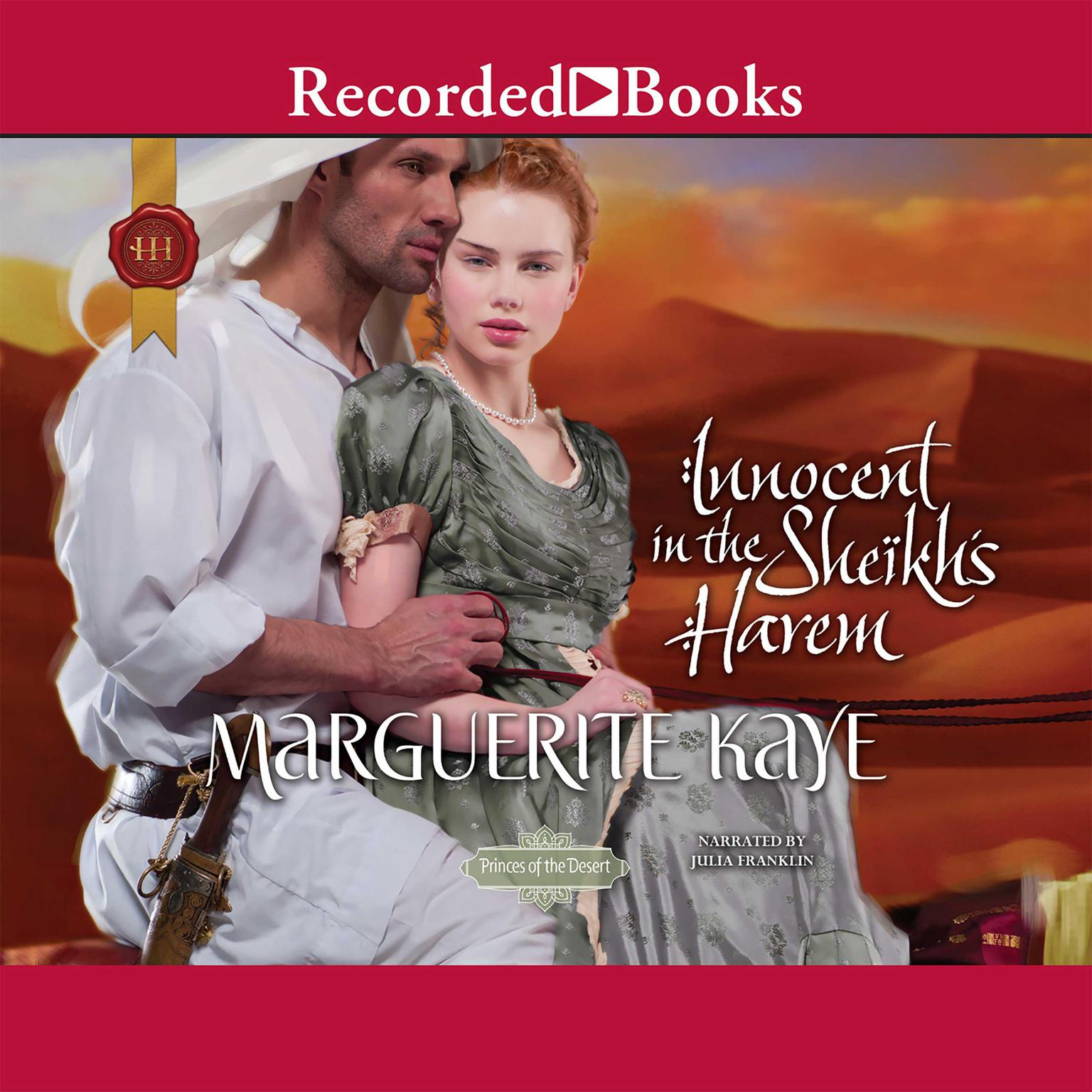 Printable Innocent in the Sheikh's Harem Audiobook Cover Art