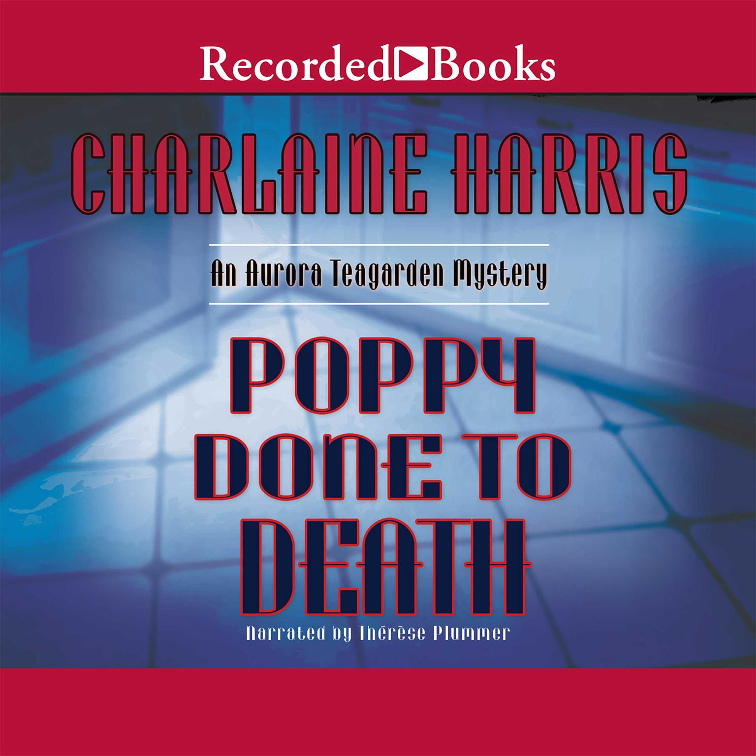 Printable Poppy Done to Death Audiobook Cover Art