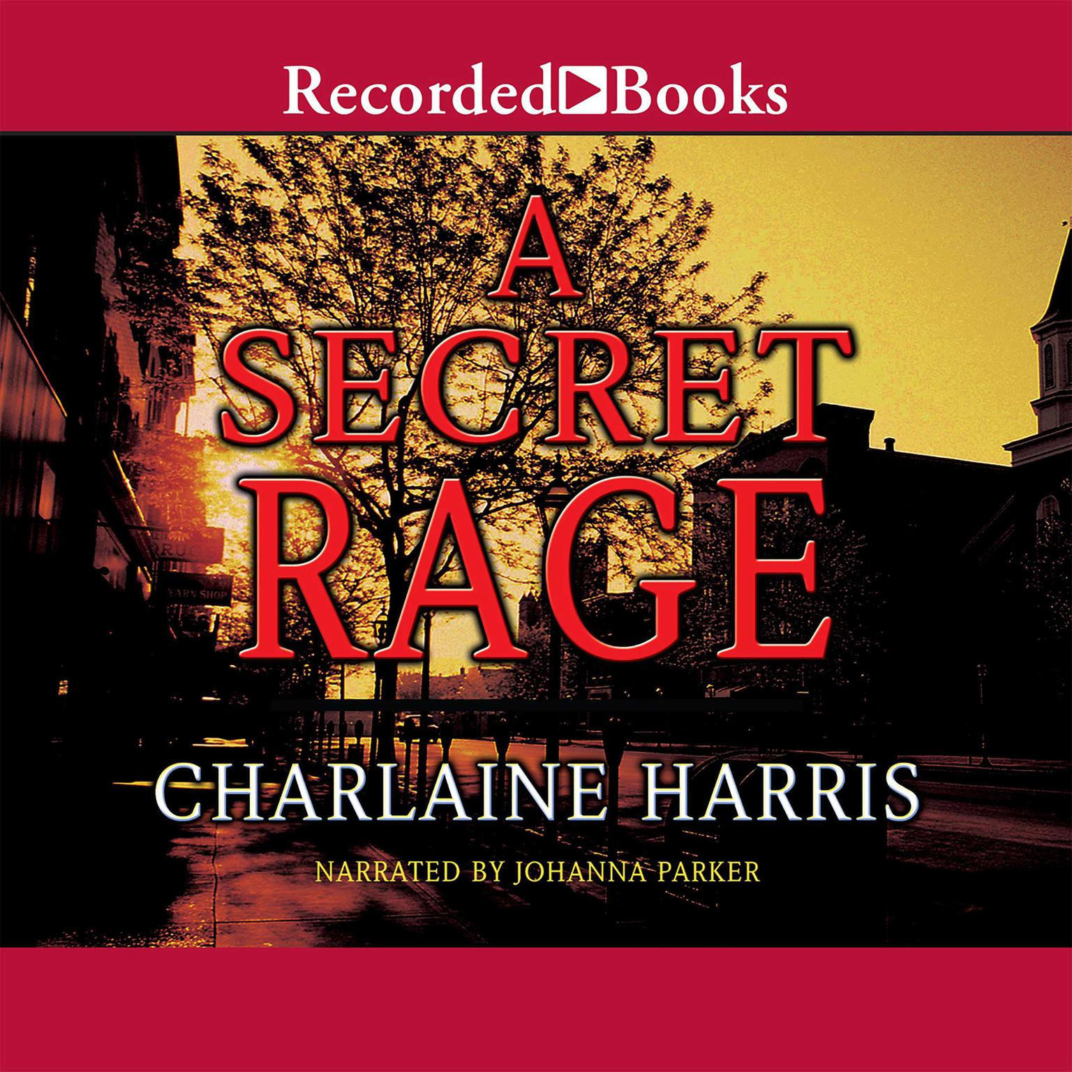 Printable A Secret Rage Audiobook Cover Art