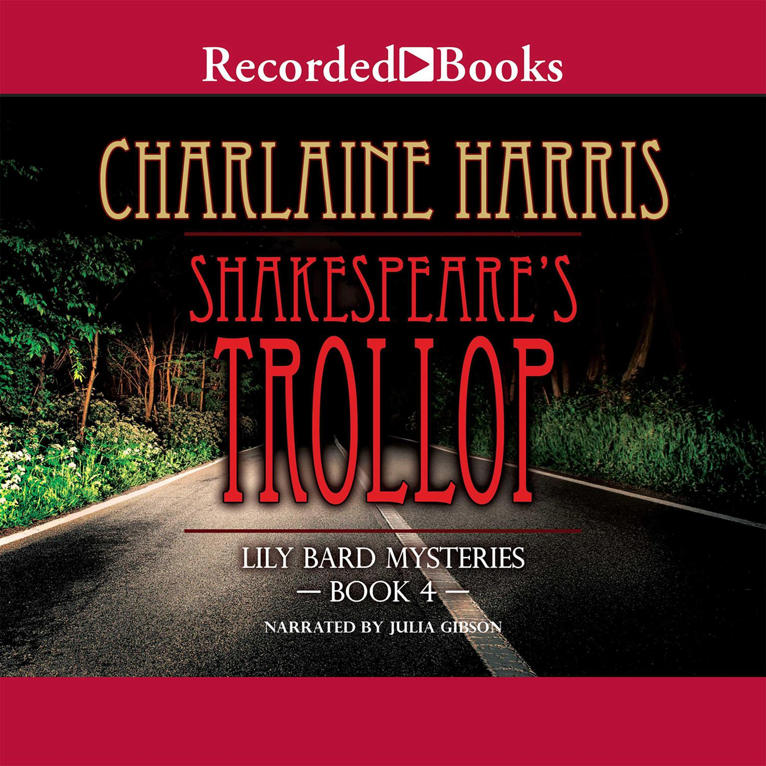 Printable Shakespeare's Trollop Audiobook Cover Art