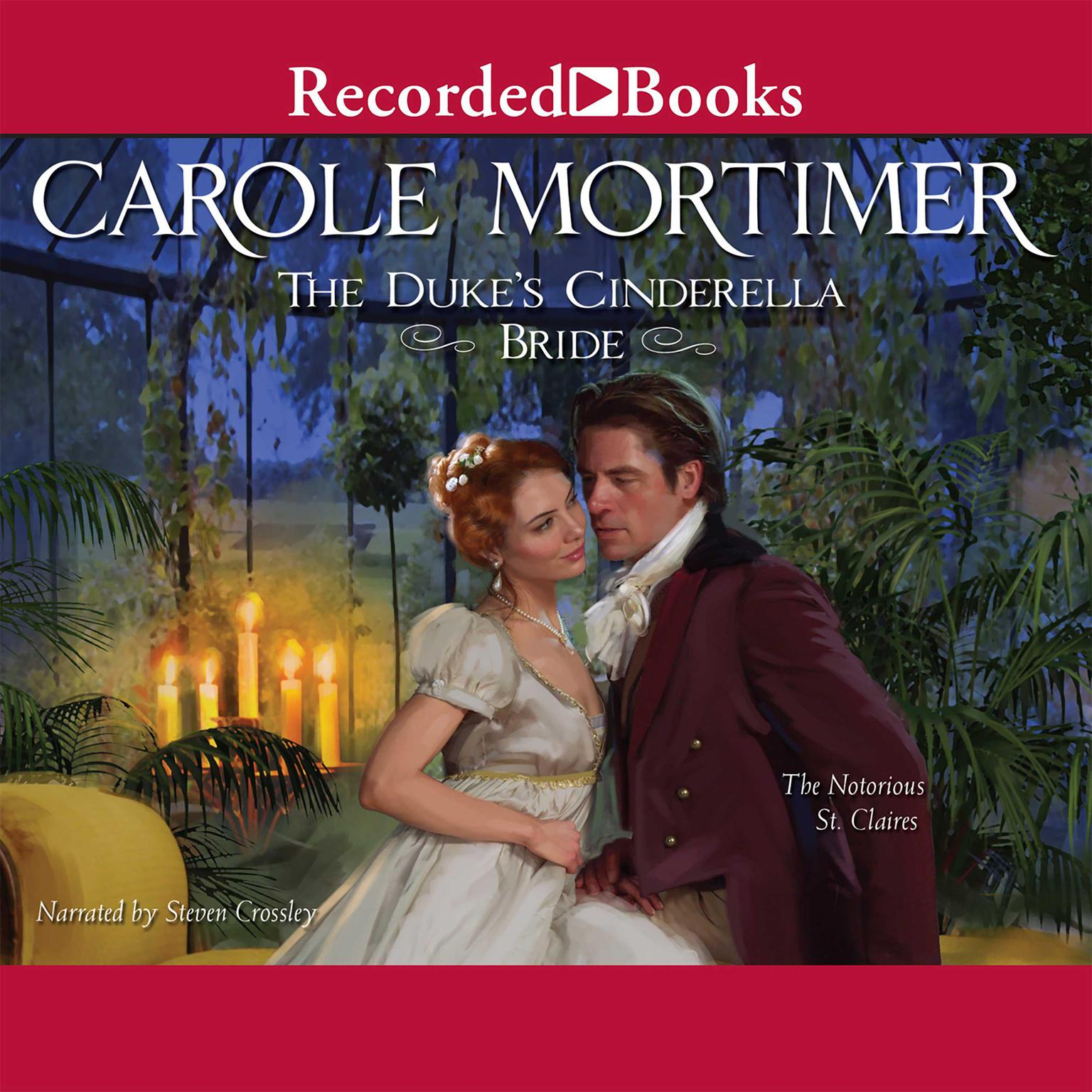 Printable The Duke's Cinderella Bride Audiobook Cover Art