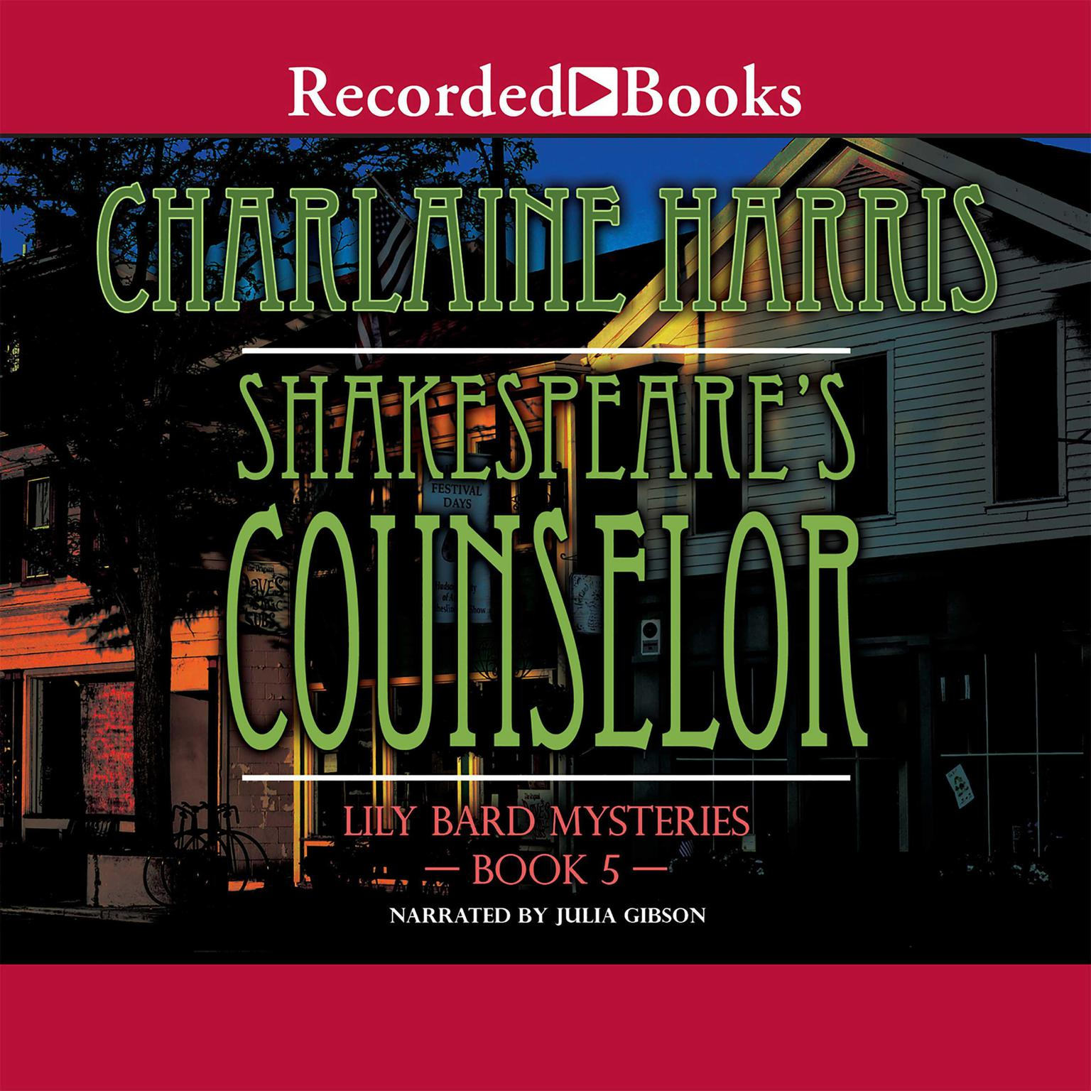 Printable Shakespeare's Counselor Audiobook Cover Art