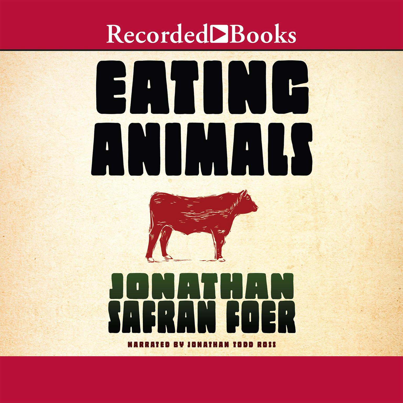 Printable Eating Animals Audiobook Cover Art
