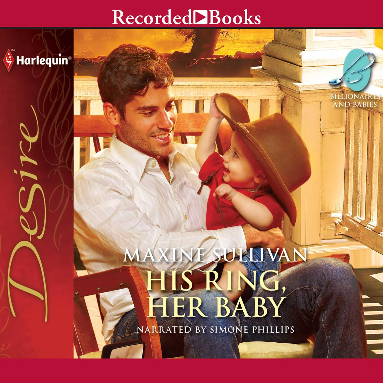 Printable His Ring, Her Baby Audiobook Cover Art