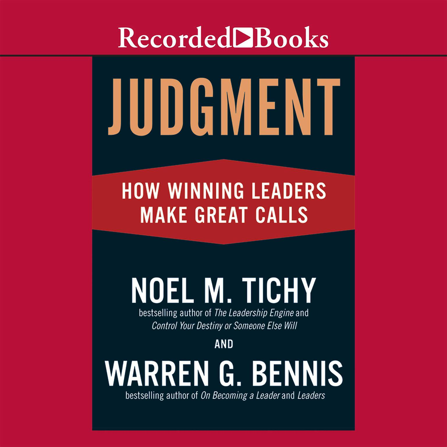 Printable Judgment: How Winning Leaders Make Great Calls Audiobook Cover Art