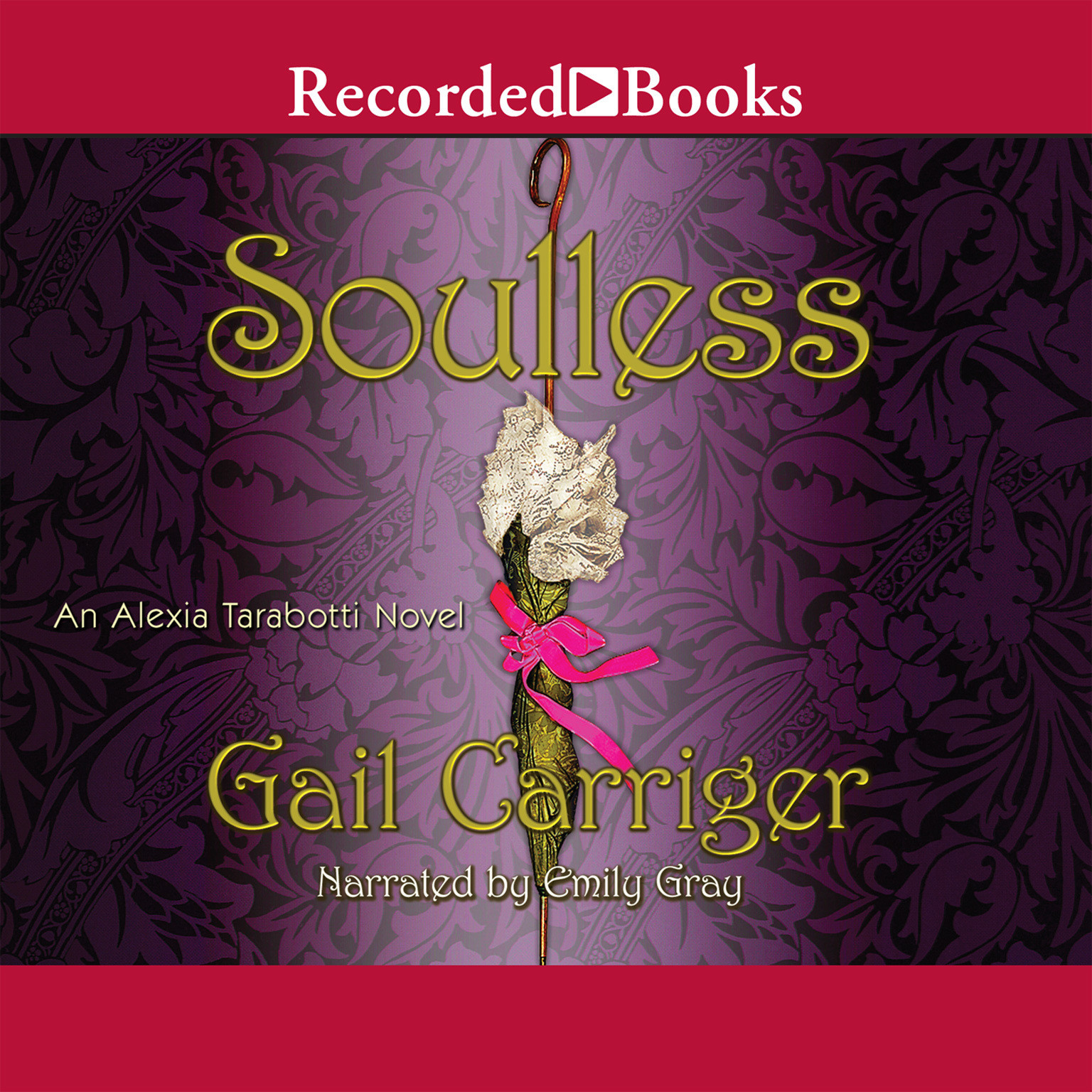Printable Soulless Audiobook Cover Art