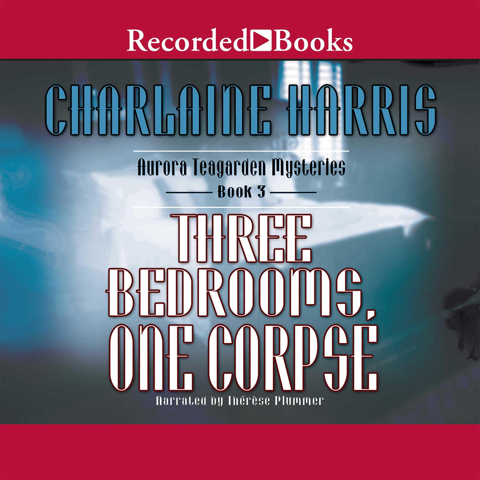Printable Three Bedrooms, One Corpse Audiobook Cover Art
