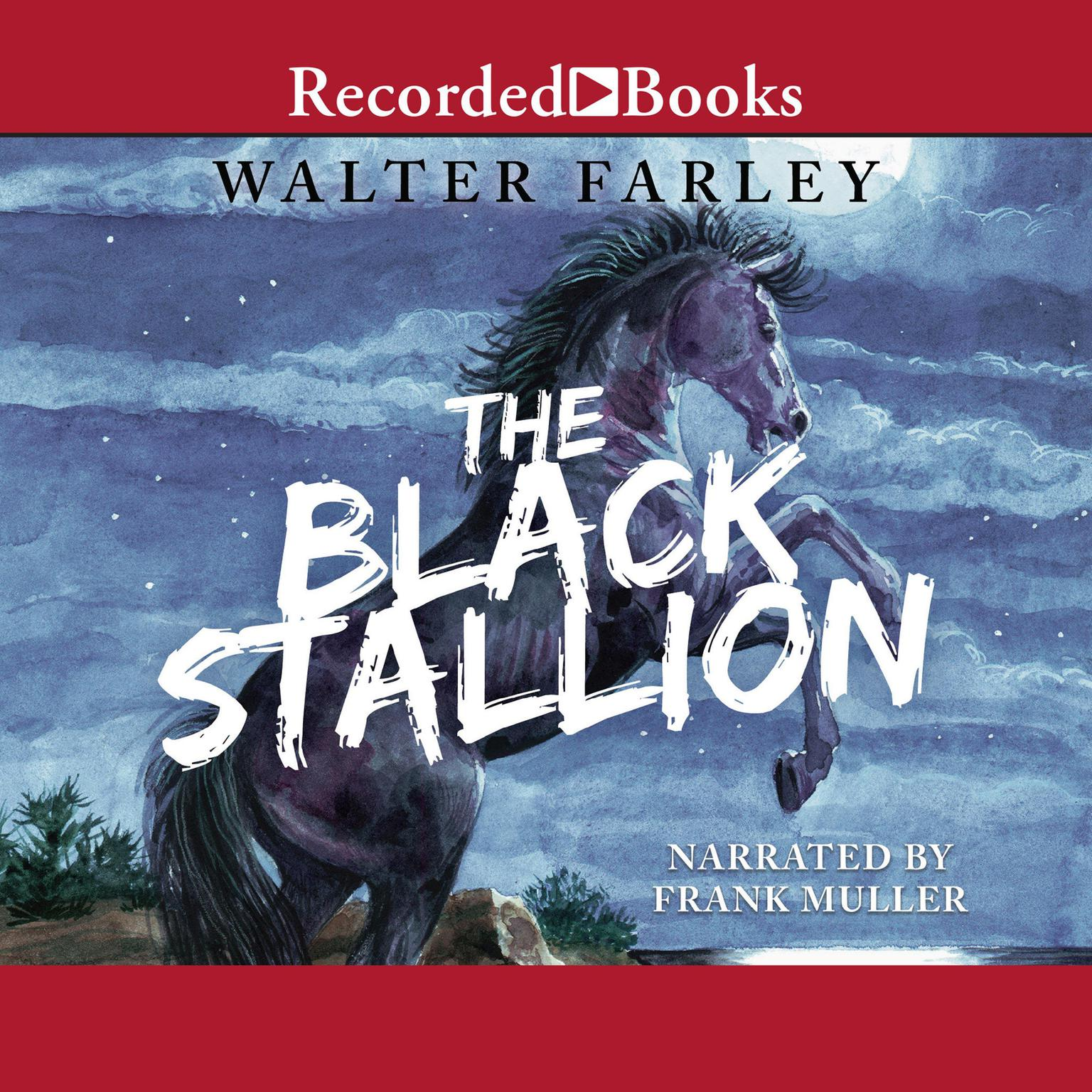 Printable The Black Stallion Audiobook Cover Art
