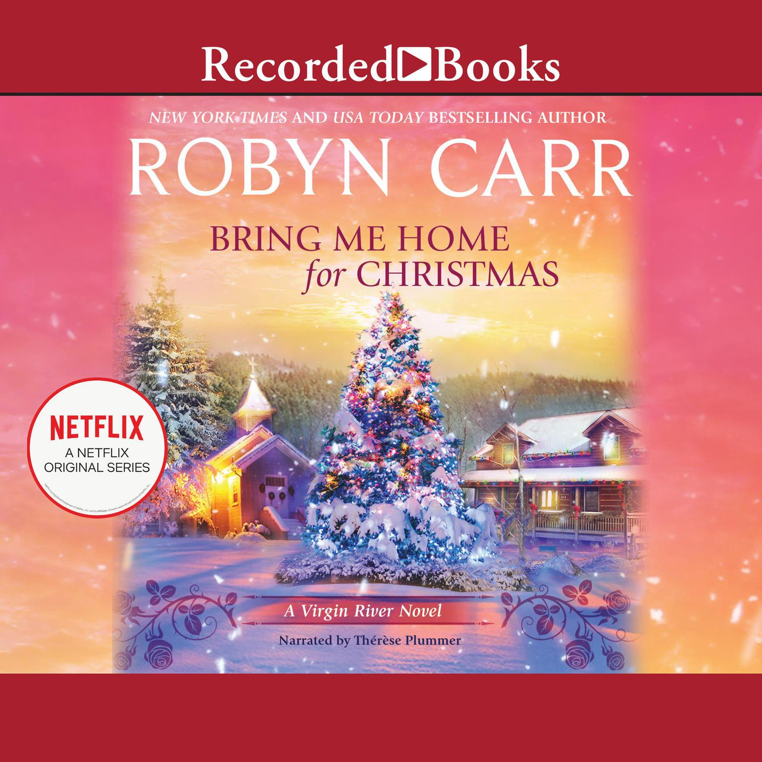 Printable Bring Me Home for Christmas Audiobook Cover Art