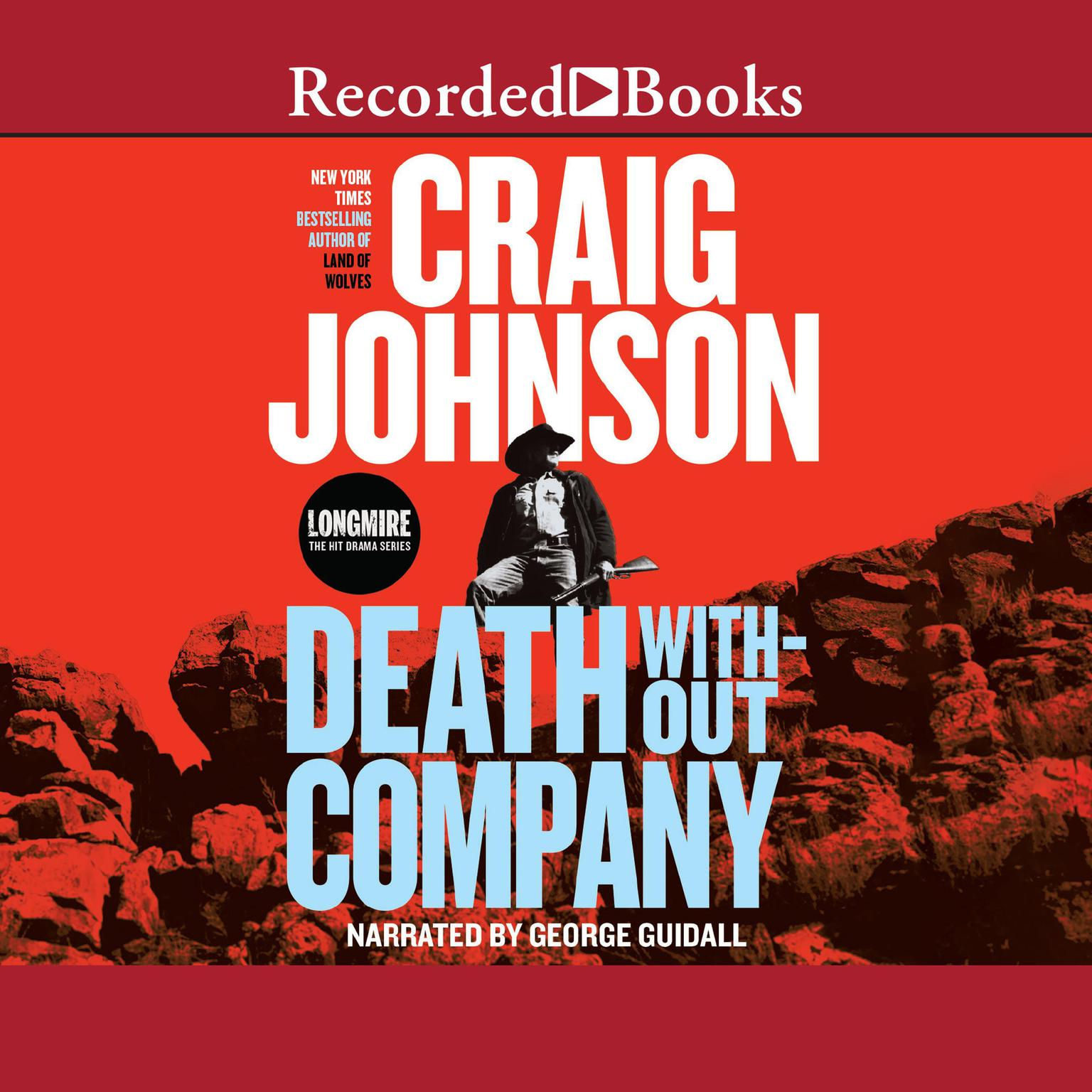 Printable Death without Company Audiobook Cover Art