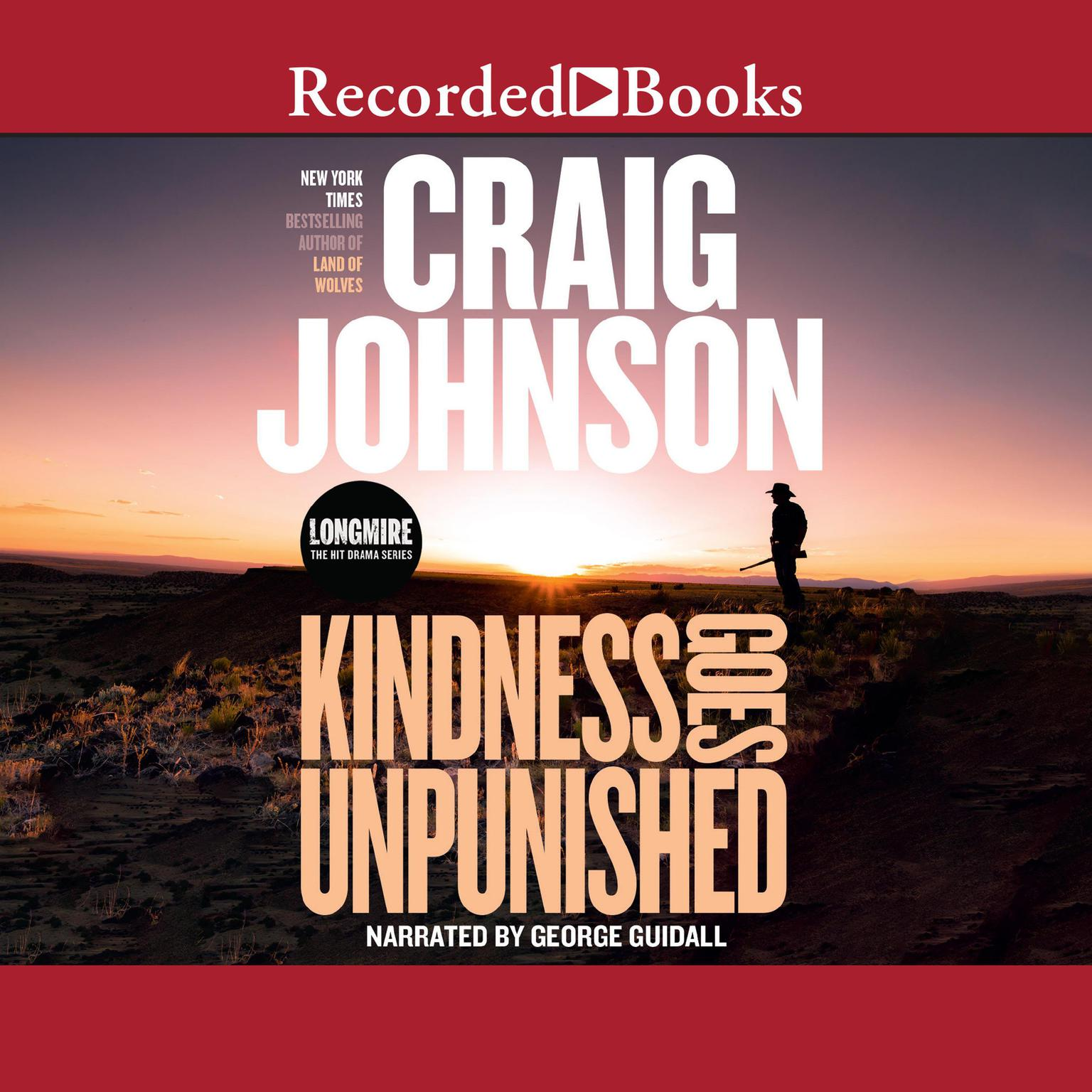 Printable Kindness Goes Unpunished Audiobook Cover Art
