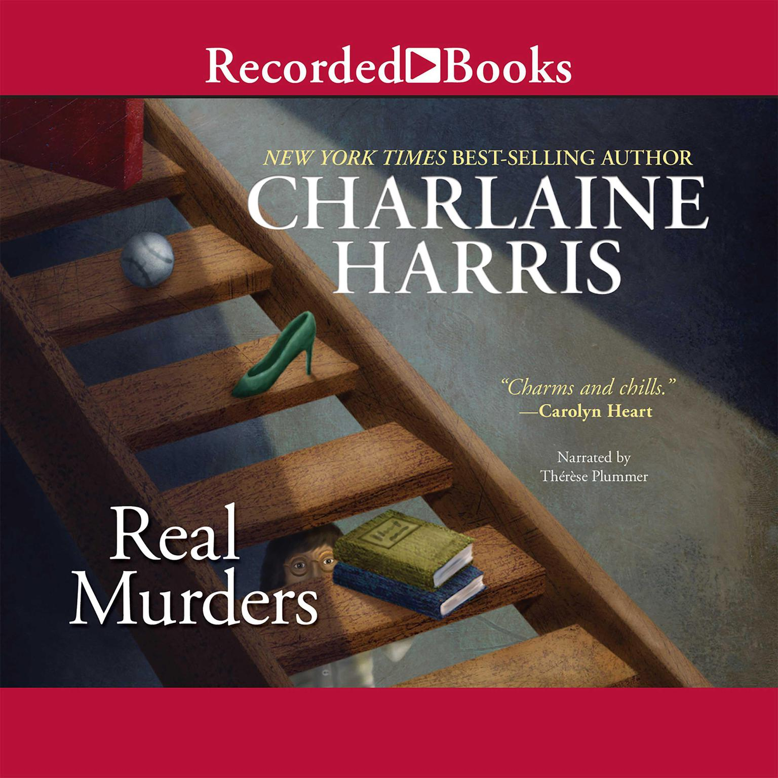 Printable Real Murders Audiobook Cover Art
