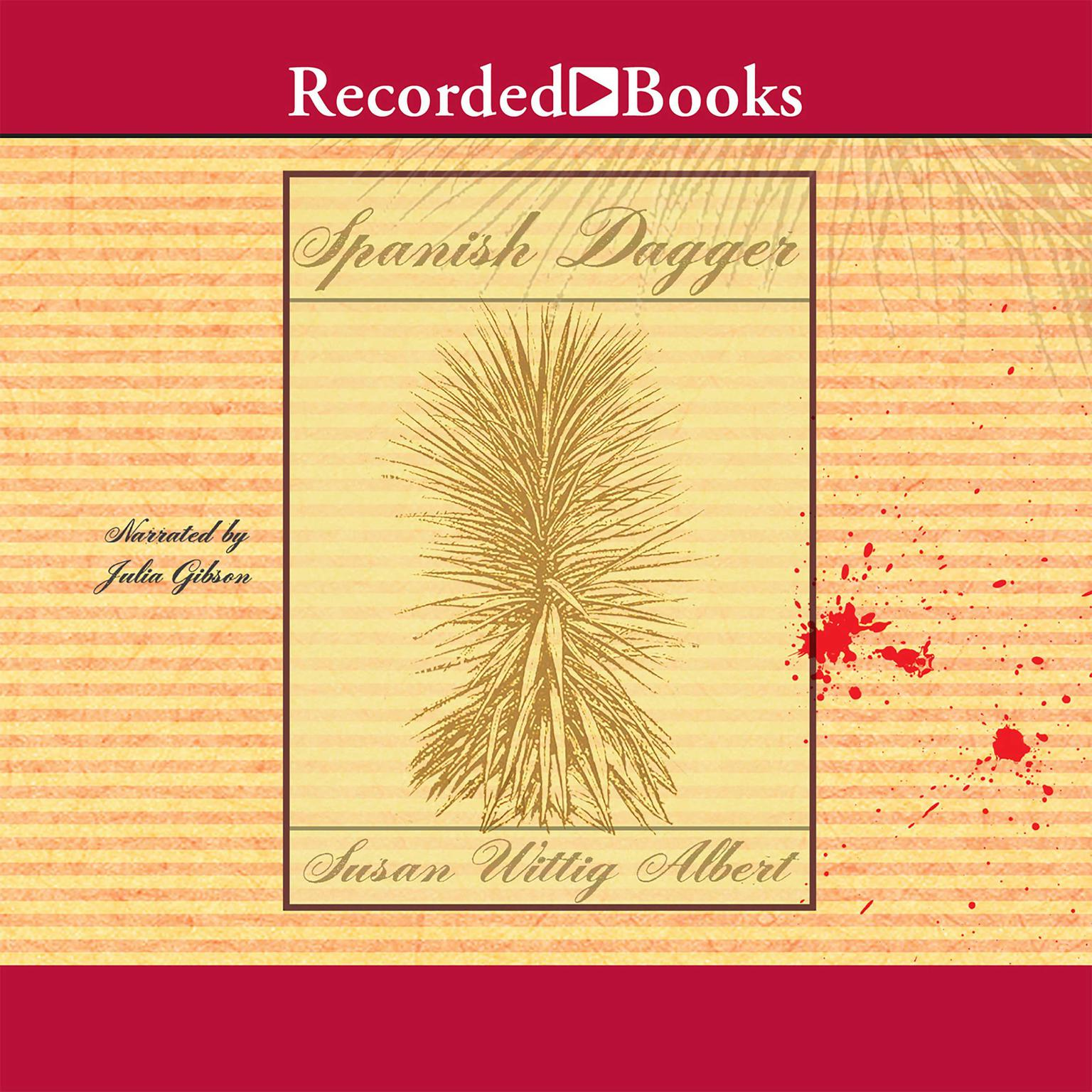 Printable Spanish Dagger Audiobook Cover Art
