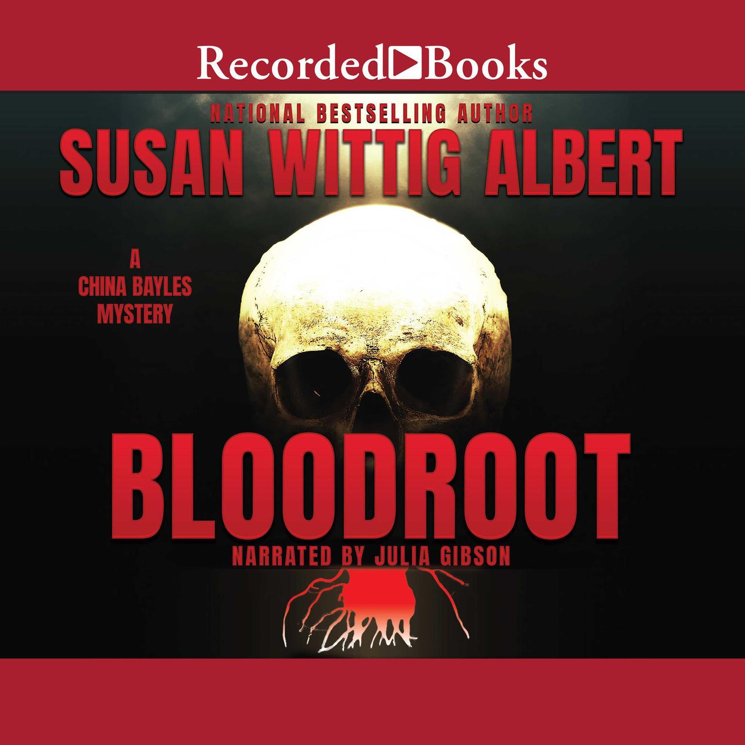 Printable Bloodroot Audiobook Cover Art