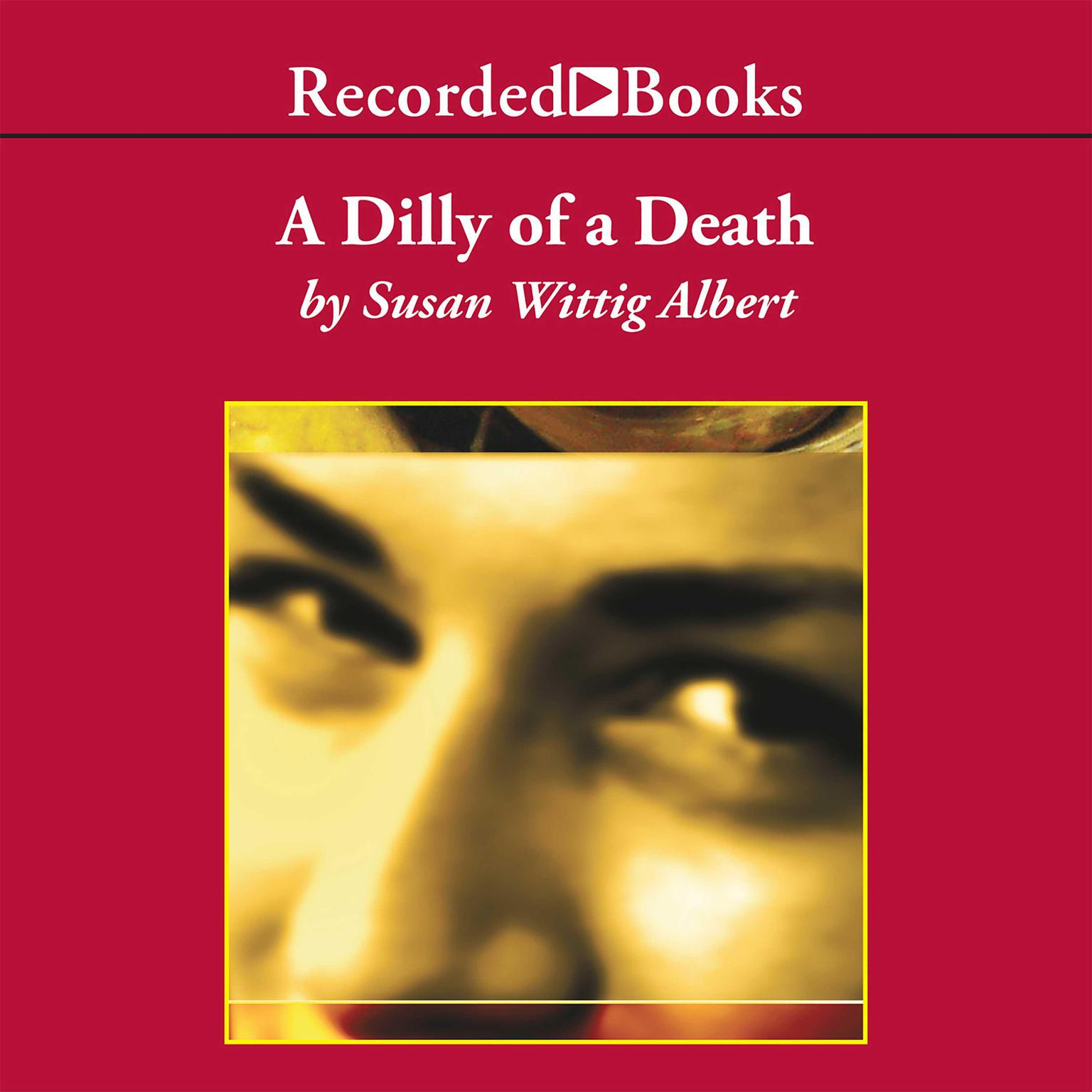 Printable A Dilly of a Death Audiobook Cover Art