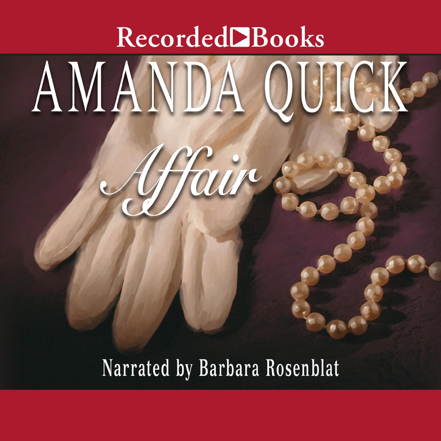 Printable Affair Audiobook Cover Art