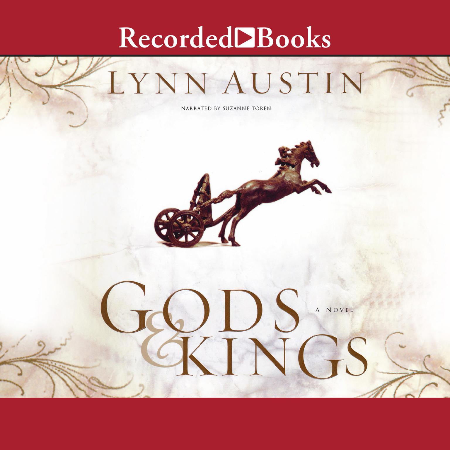 Printable Gods and Kings: A Novel Audiobook Cover Art