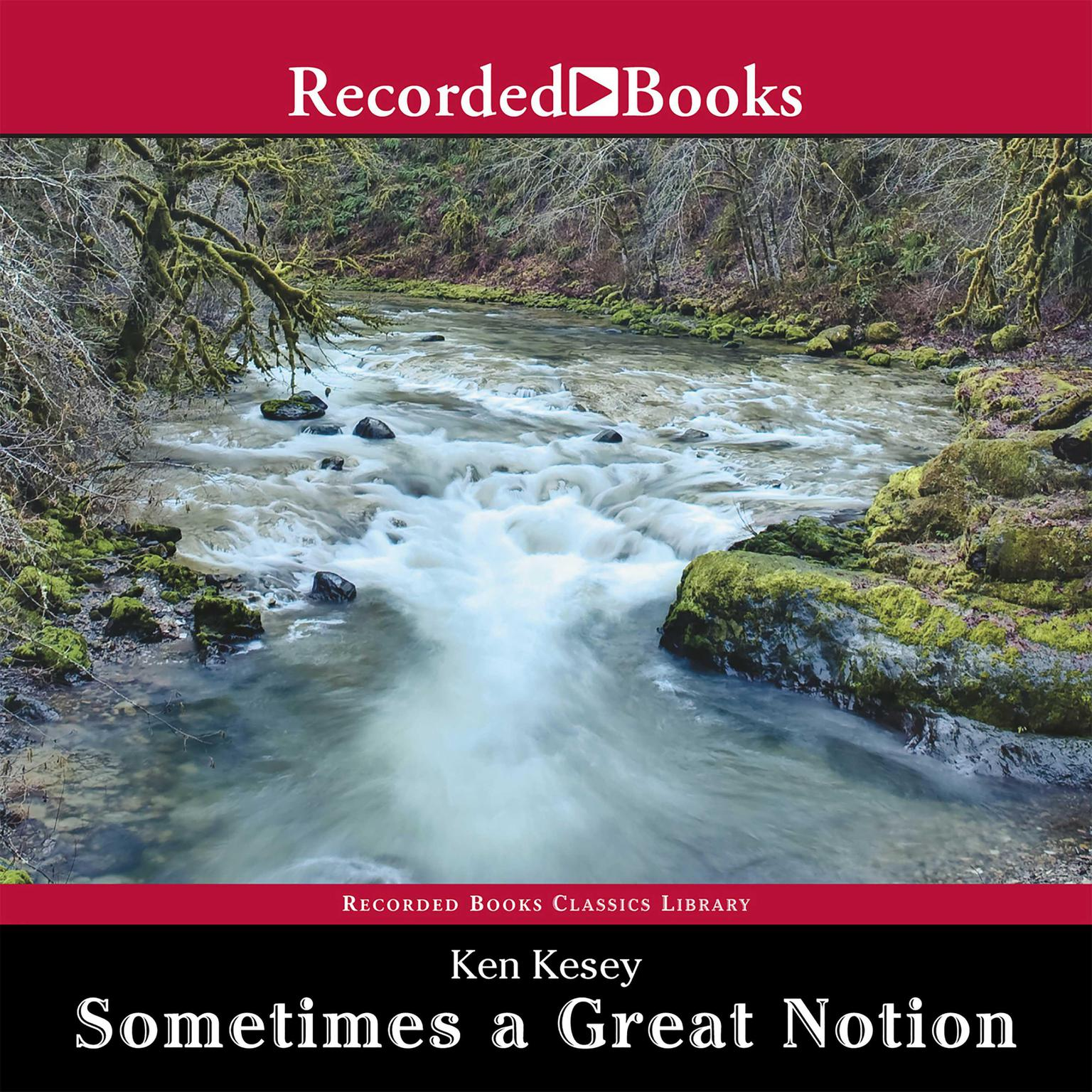 Printable Sometimes a Great Notion Audiobook Cover Art