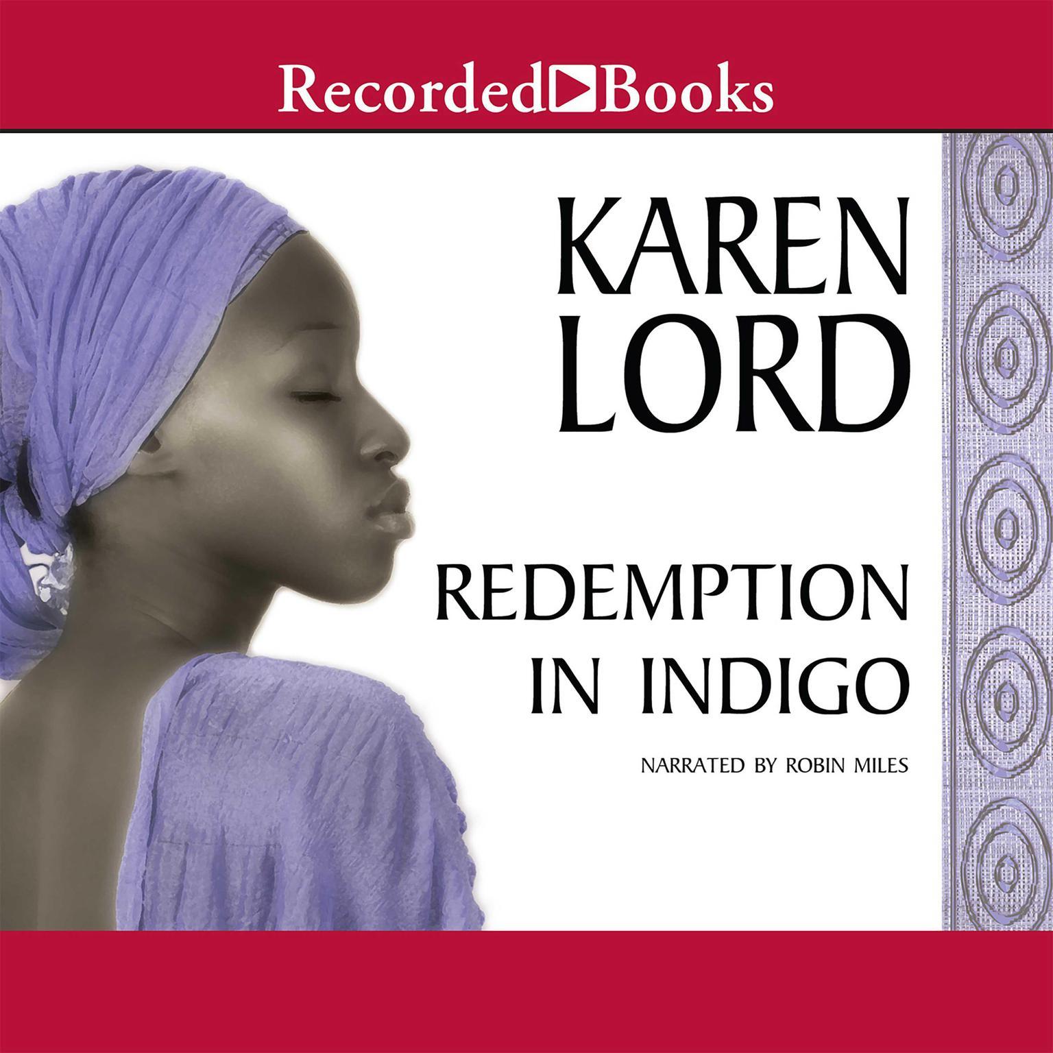 Printable Redemption in Indigo Audiobook Cover Art