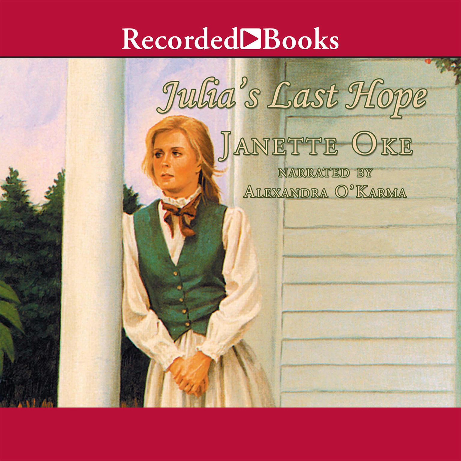 Printable Julia's Last Hope Audiobook Cover Art