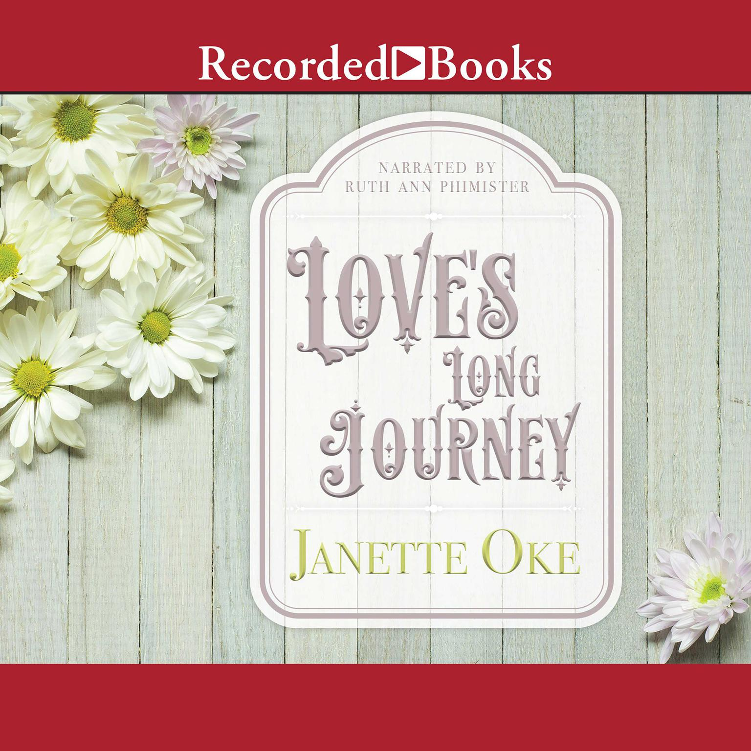 Printable Love's Long Journey Audiobook Cover Art