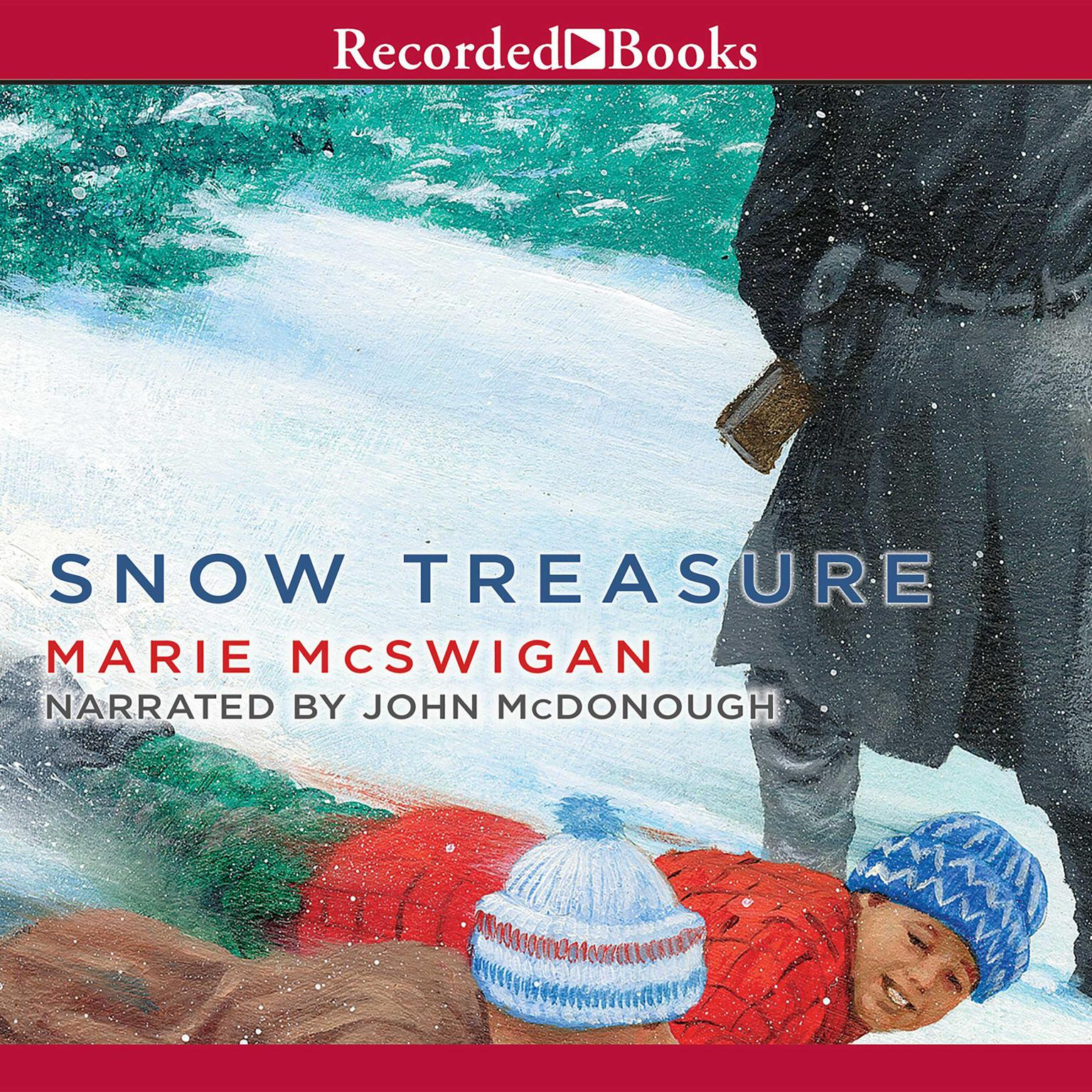 Printable Snow Treasure Audiobook Cover Art