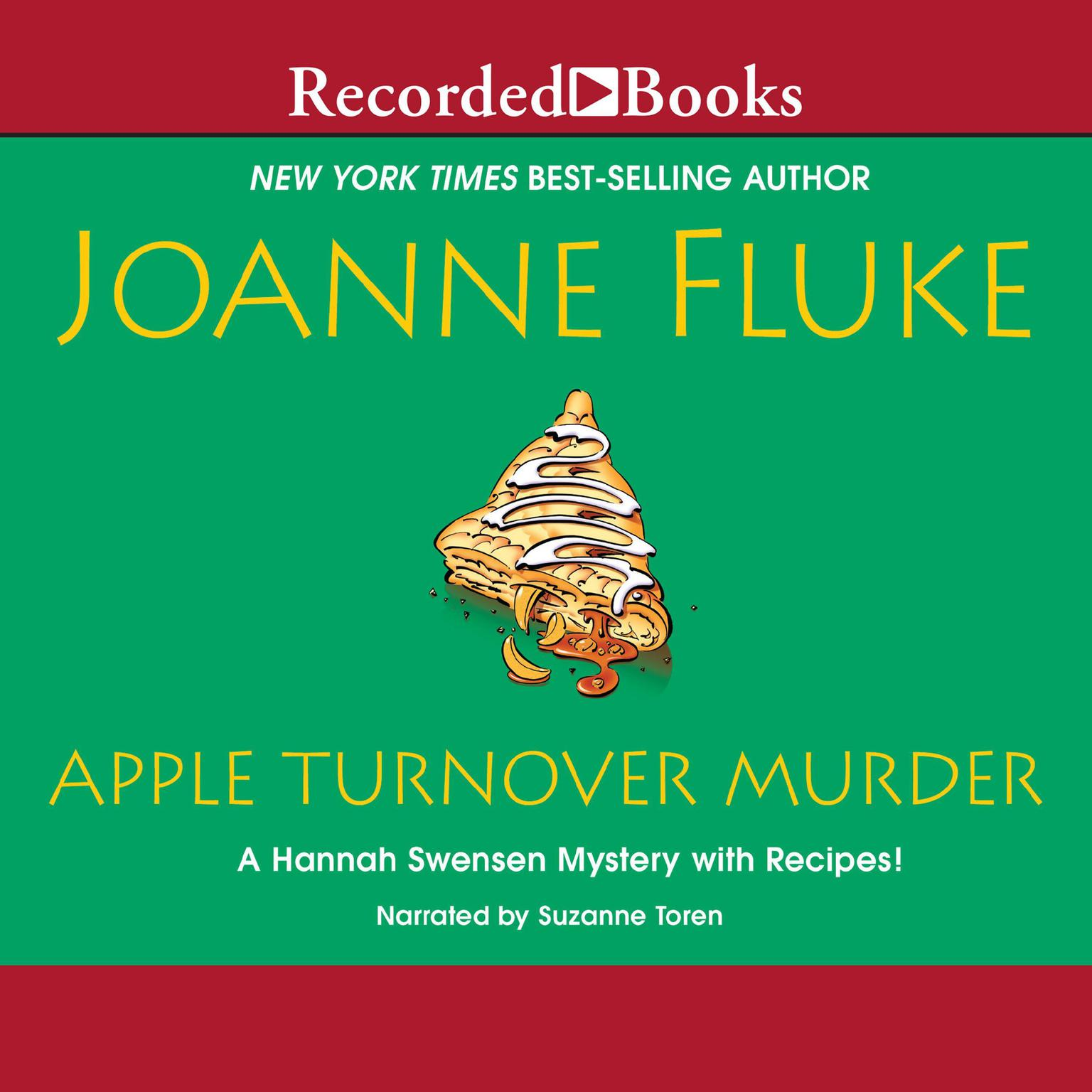 Printable Apple Turnover Murder Audiobook Cover Art