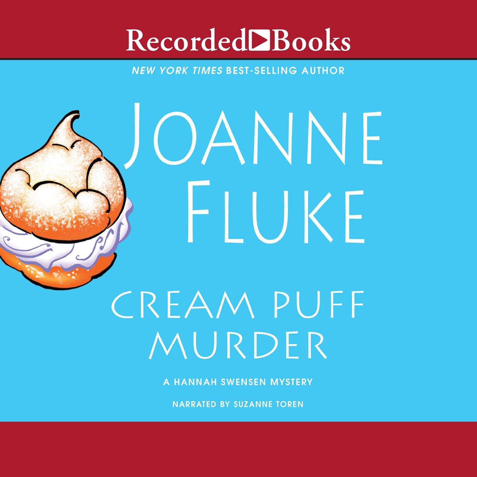 Printable Cream Puff Murder Audiobook Cover Art