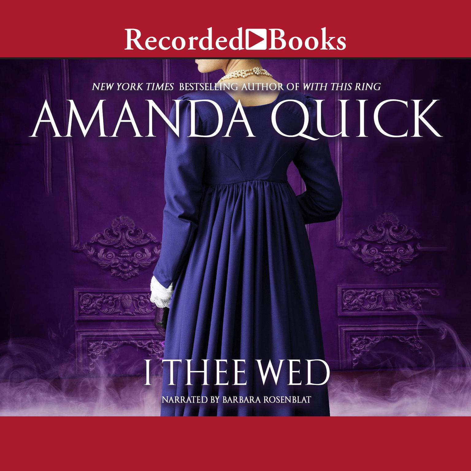 Printable I Thee Wed Audiobook Cover Art