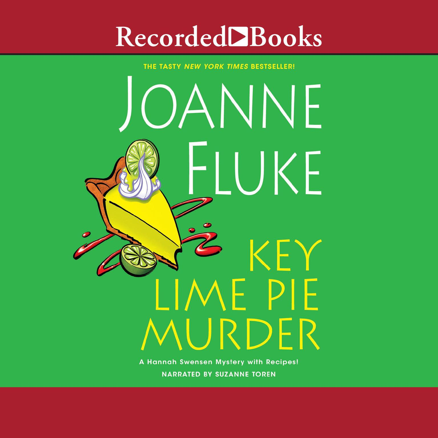 Printable Key Lime Pie Murder Audiobook Cover Art