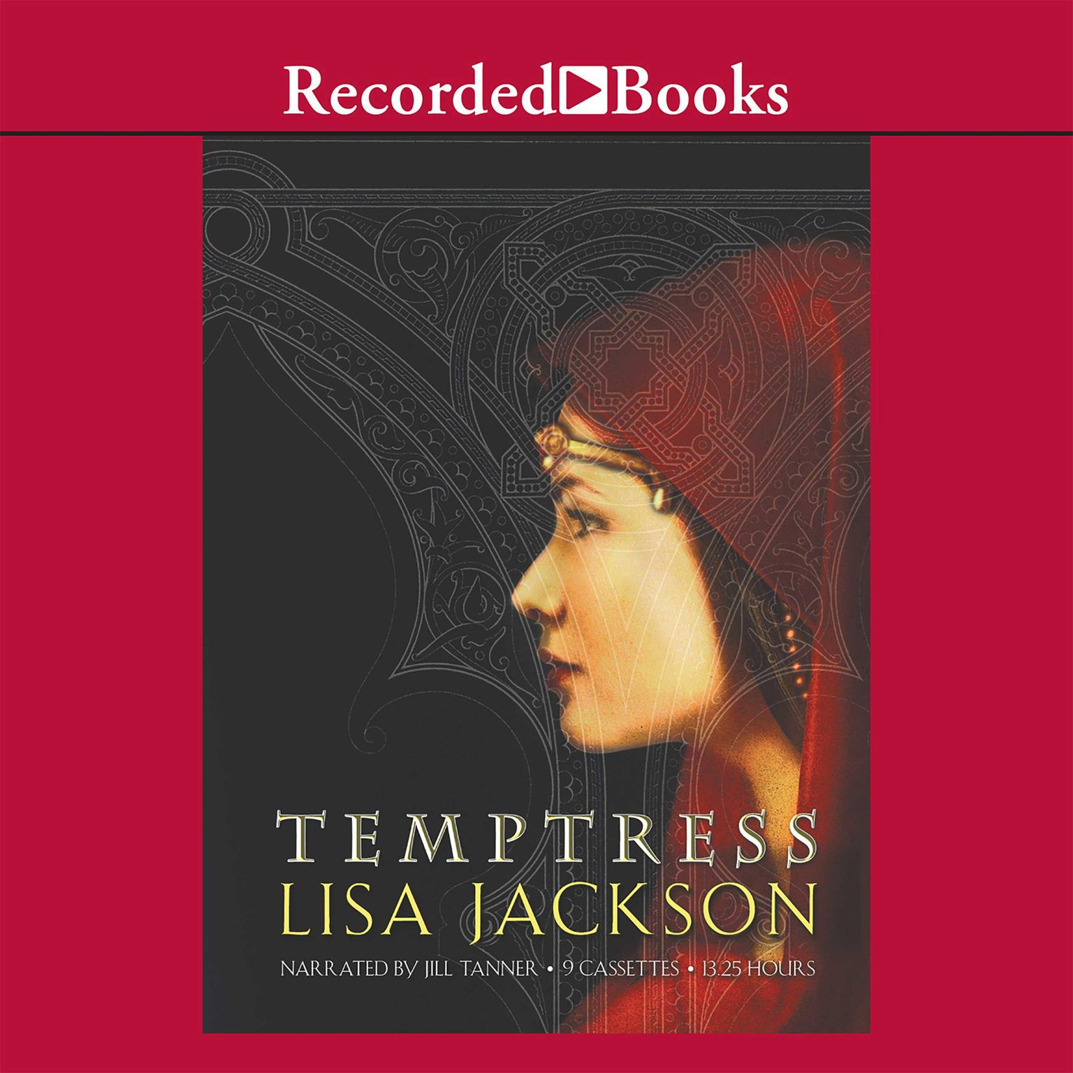 Printable Temptress Audiobook Cover Art
