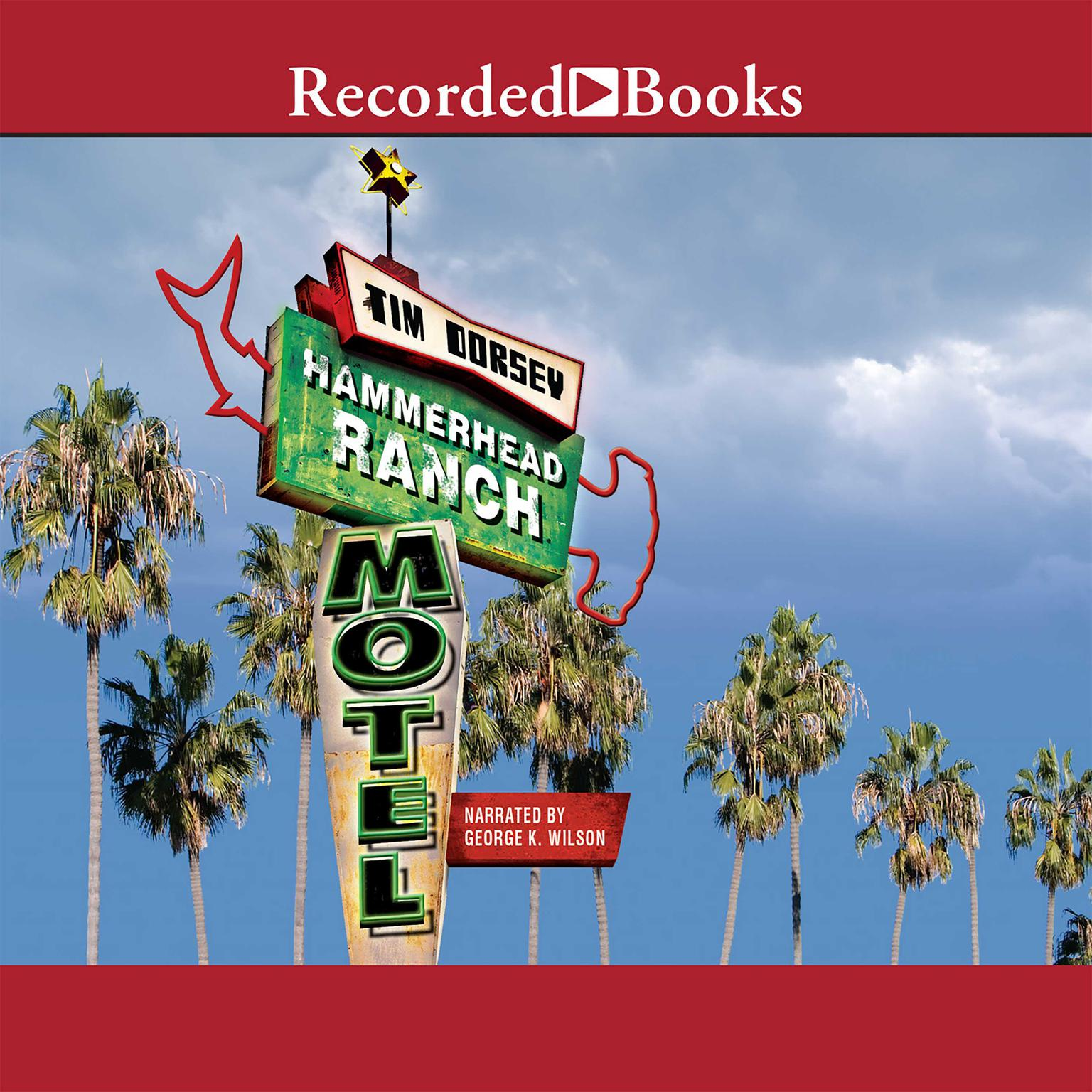 Printable Hammerhead Ranch Motel Audiobook Cover Art