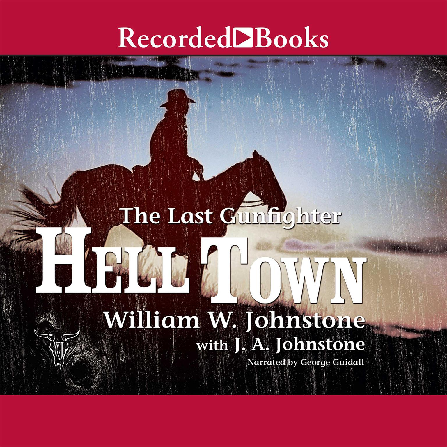 Printable Hell Town Audiobook Cover Art