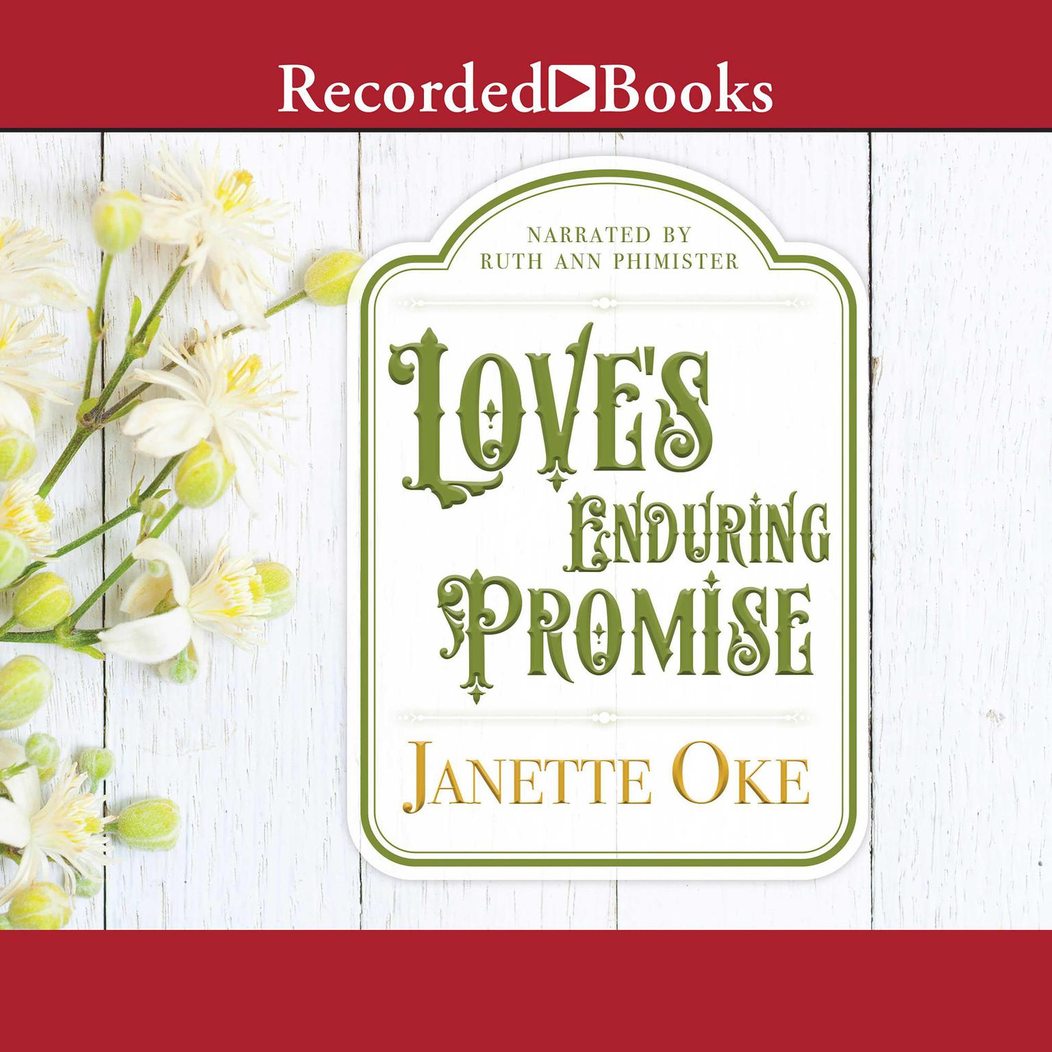 Printable Love's Enduring Promise Audiobook Cover Art