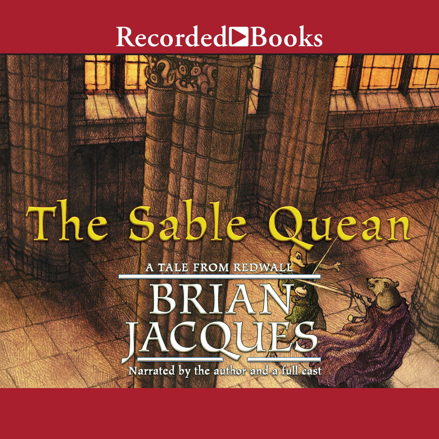 Printable The Sable Quean Audiobook Cover Art