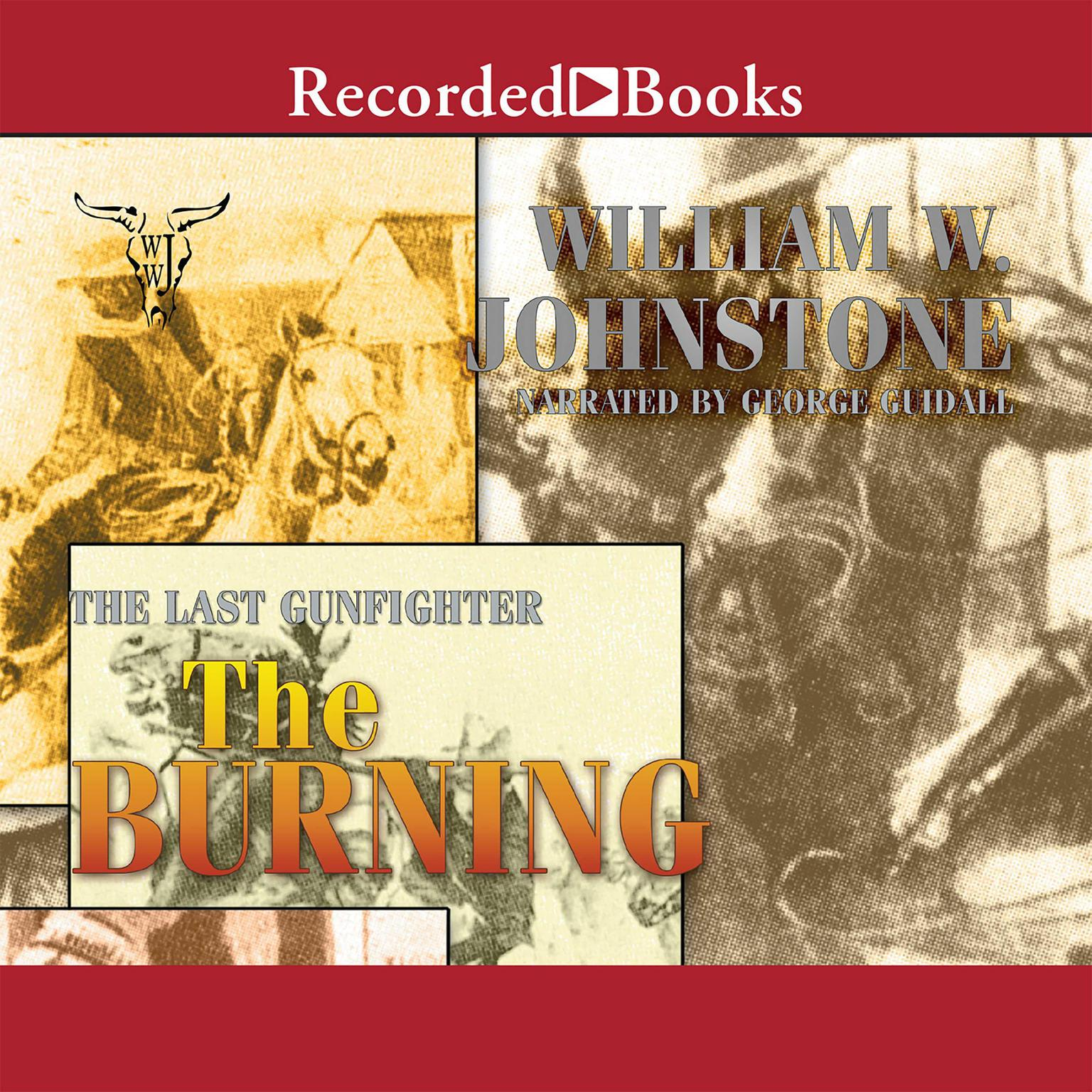Printable The Burning Audiobook Cover Art
