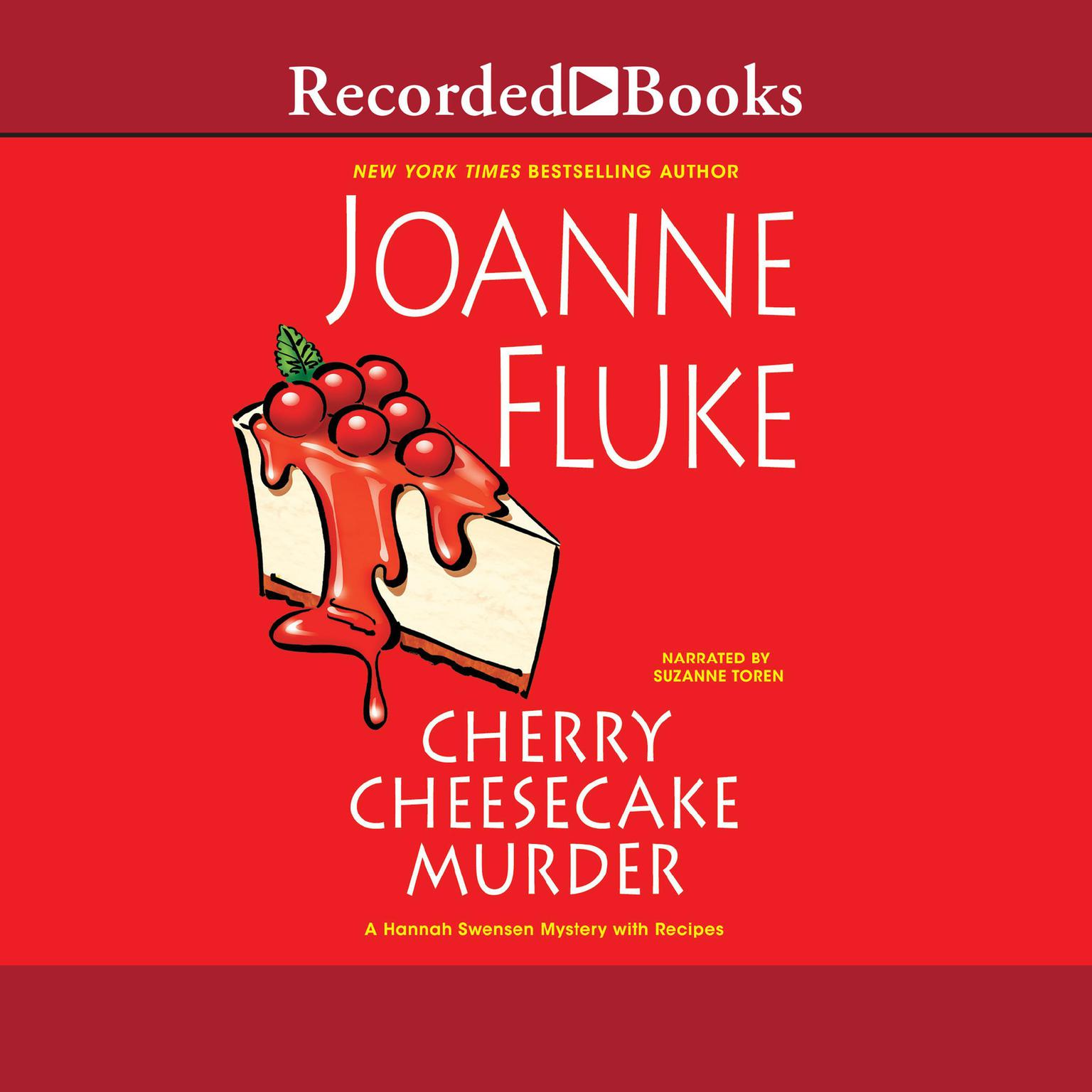 Printable Cherry Cheesecake Murder Audiobook Cover Art