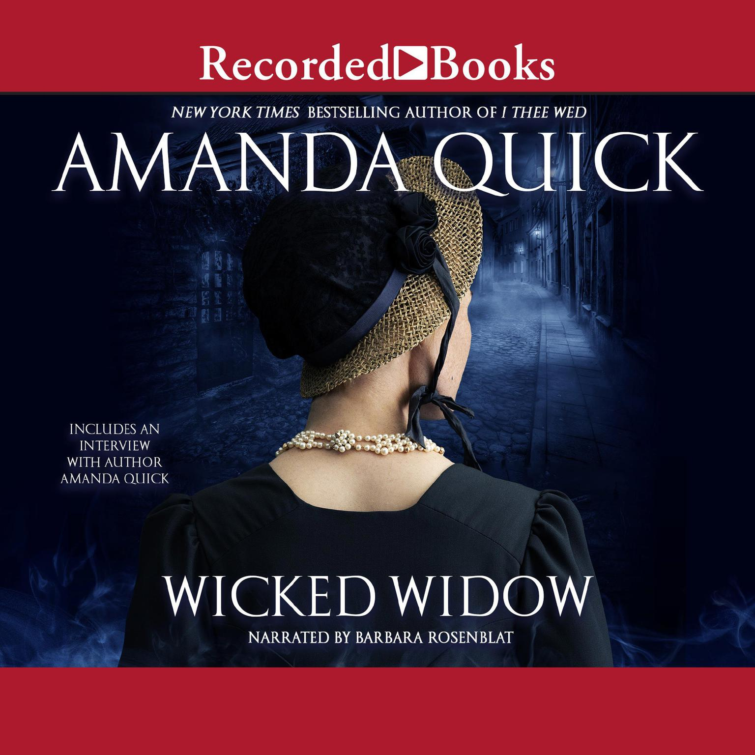 Printable Wicked Widow Audiobook Cover Art