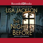 The Night Before Audiobook, by Lisa Jackson