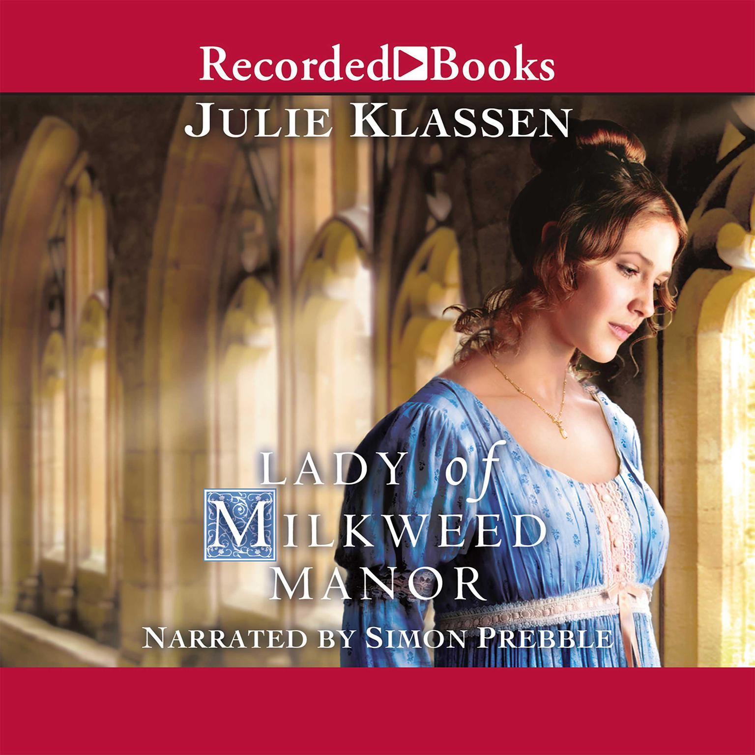 Printable Lady of Milkweed Manor Audiobook Cover Art
